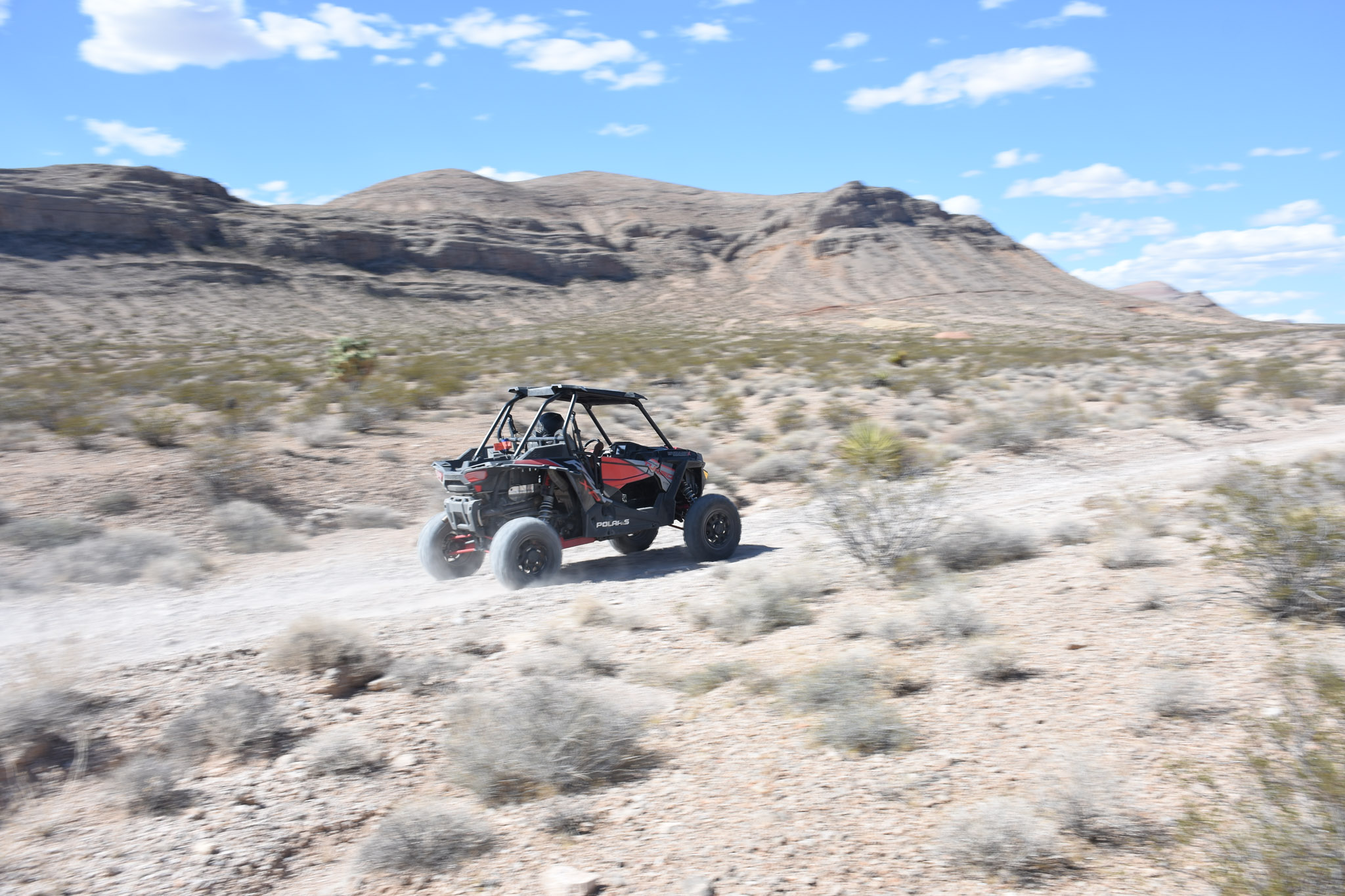Crossing (Part of) the Mojave Desert at 76 MPH in the
