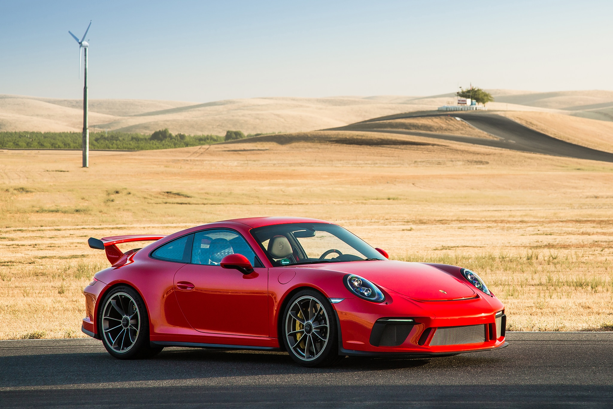 Conquering Thunderhill Raceway In The 2018 Porsche 911 Gt3