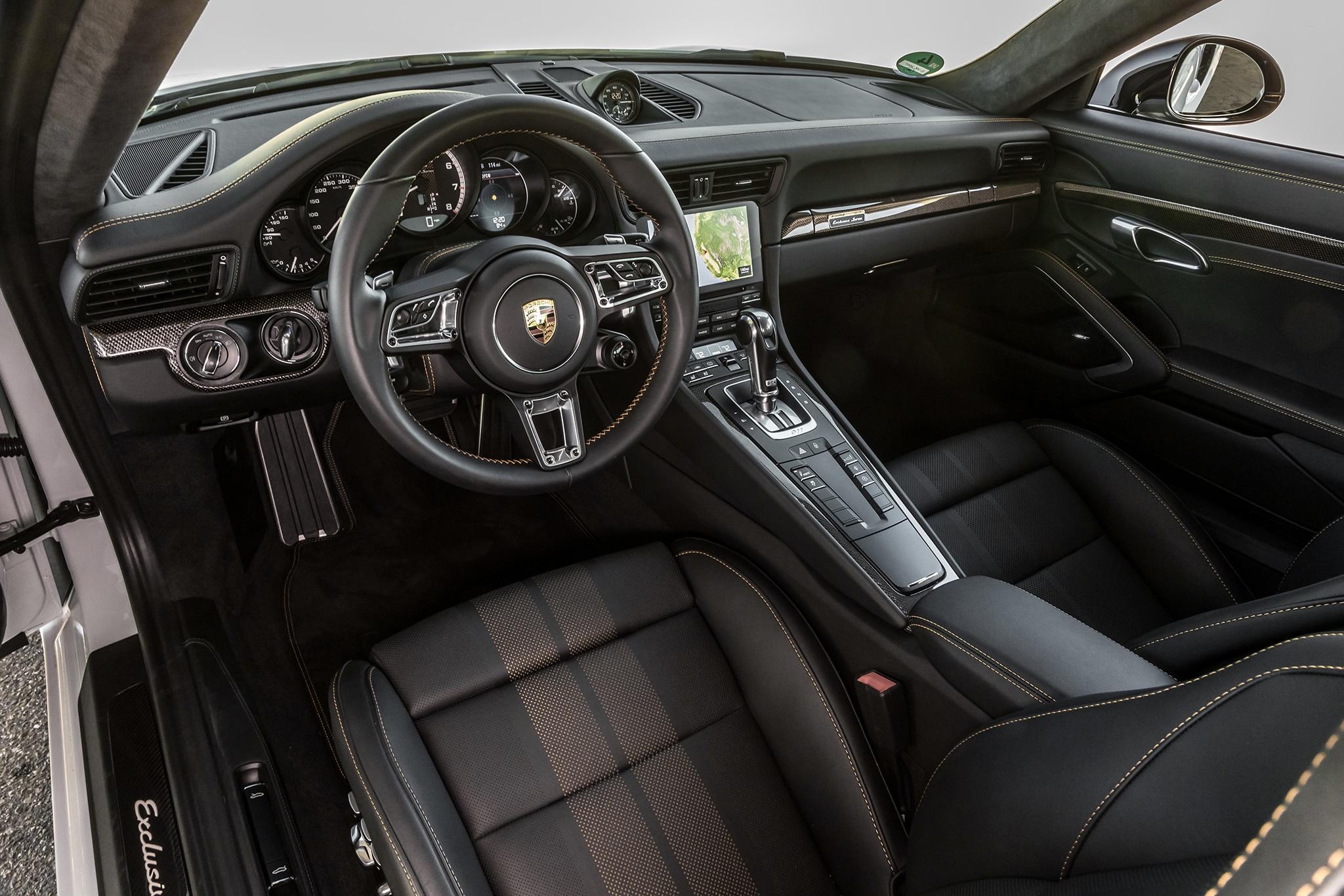 First Laps 2018 Porsche 911 Turbo S Exclusive Series Automobile