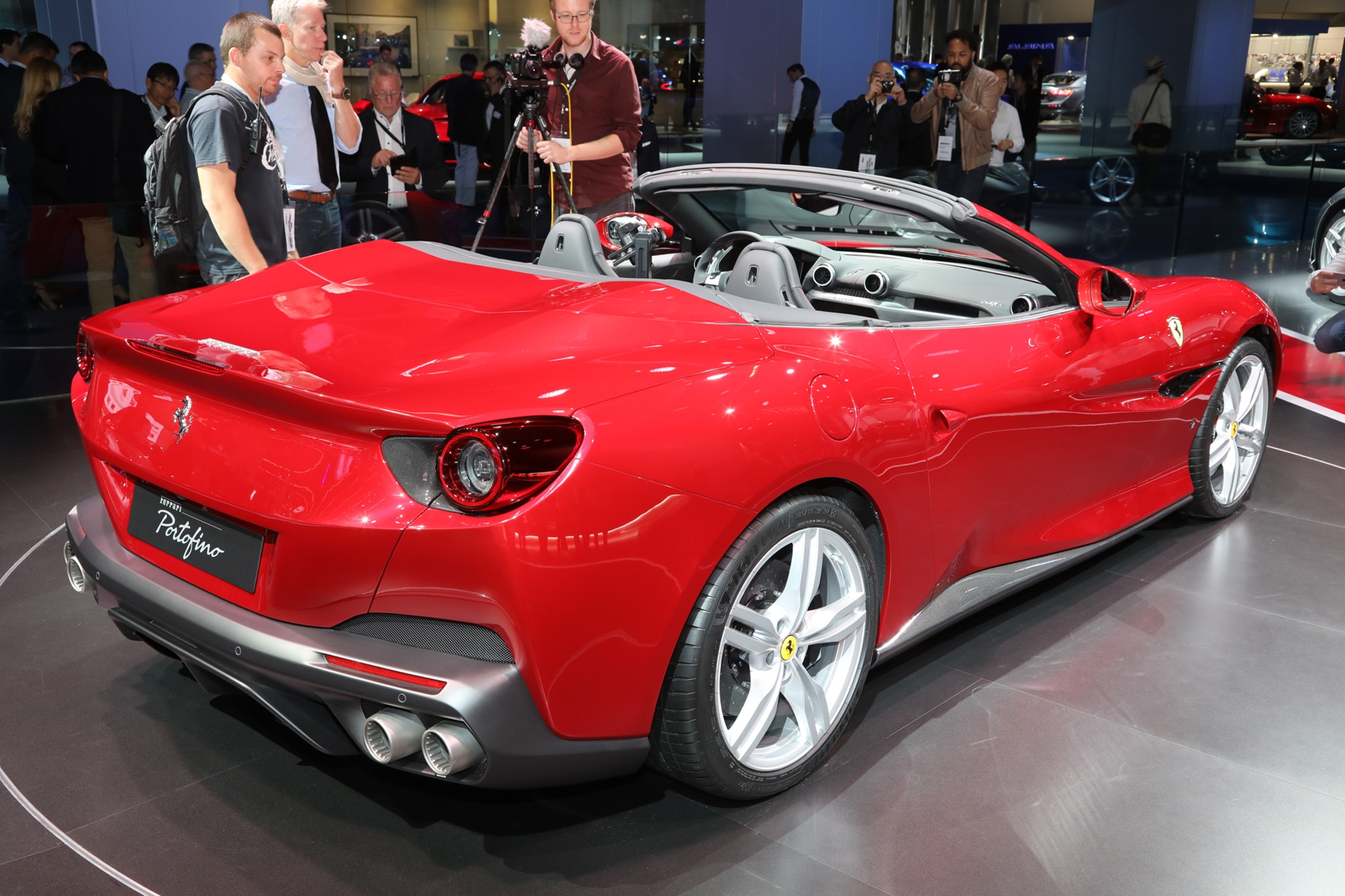 2018 Ferrari Portofino Looks Sharp In Frankfurt