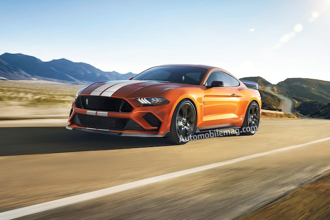 2019 Ford Shelby Mustang Gt500 Ilration