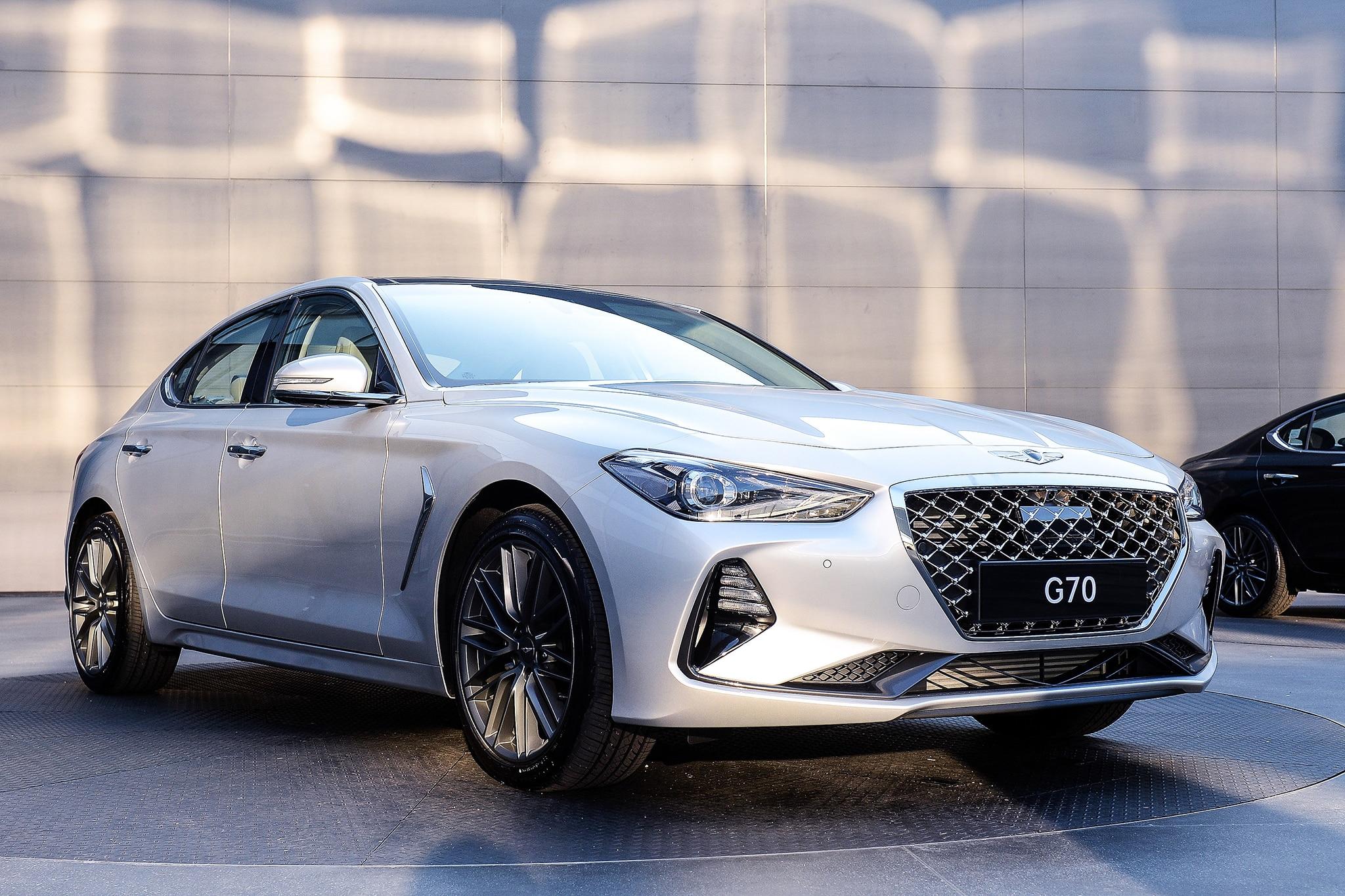 2019 Genesis G70 Brings The Fight To 3 Series Automobile Magazine Hyundai 8 Engine Diagram