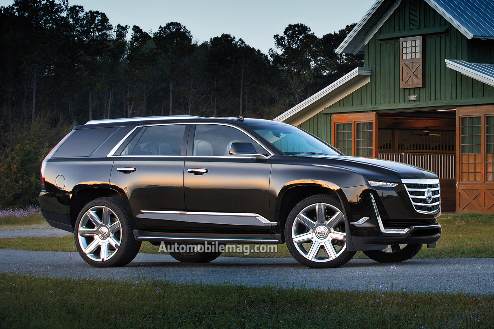 2020 Cadillac Escalade Illustration