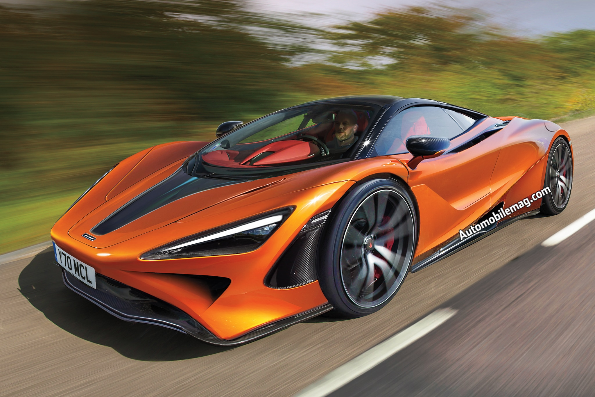 Mclaren Speedtail Is The Name Of Marque S Upcoming Three Seat Hyper Gt Car Automobile Magazine