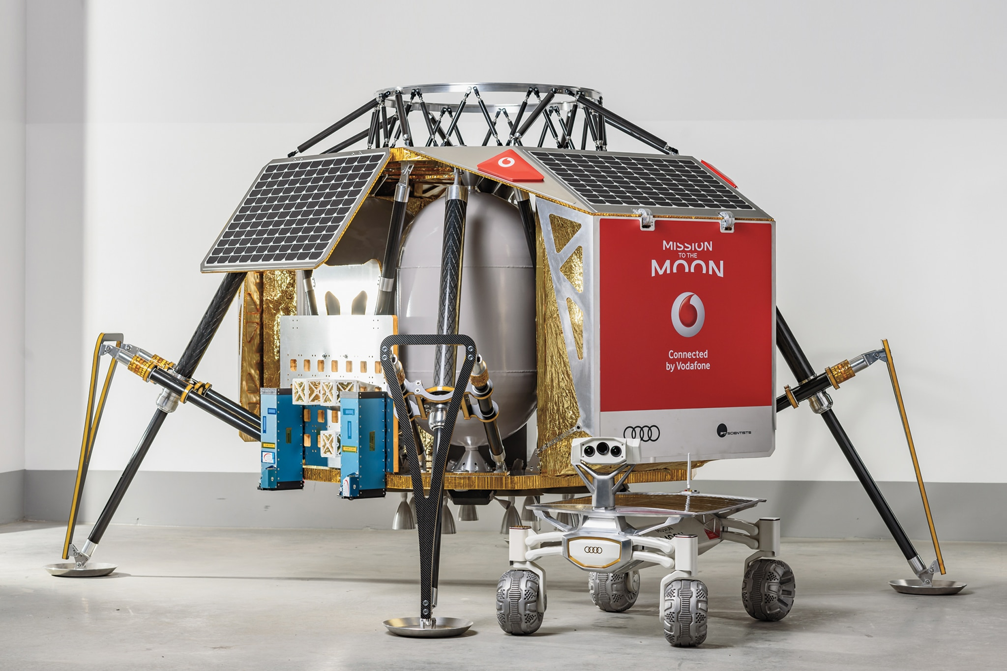 Build Your Honda >> Audi Prepares Its Lunar Quattro to Make a Giant Leap for