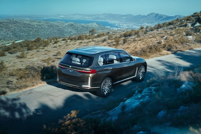 Bmw Concept X7 Iperformance Previews Future Full Size Suv
