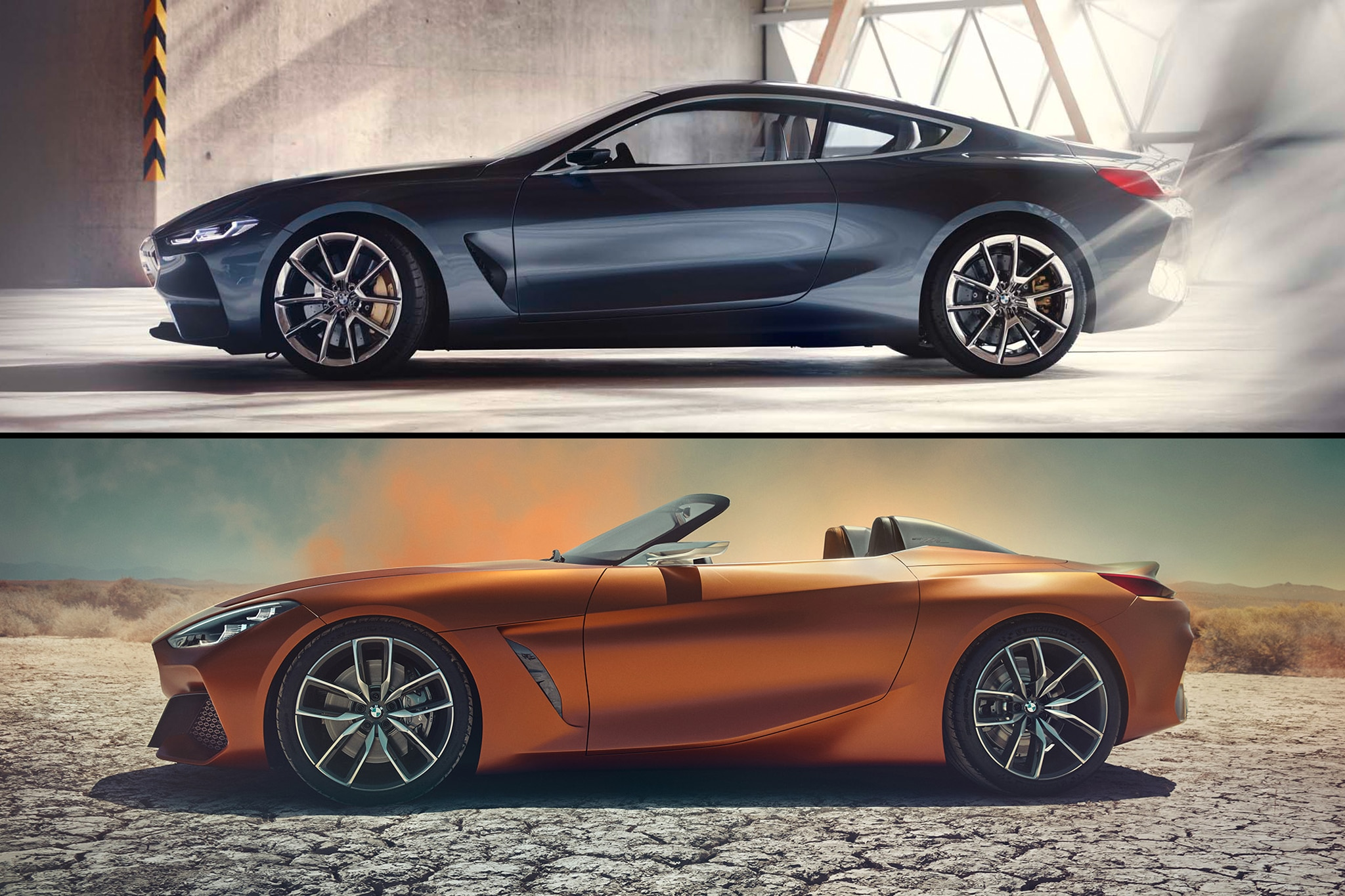 By Design BMW Concept 8 And Z4