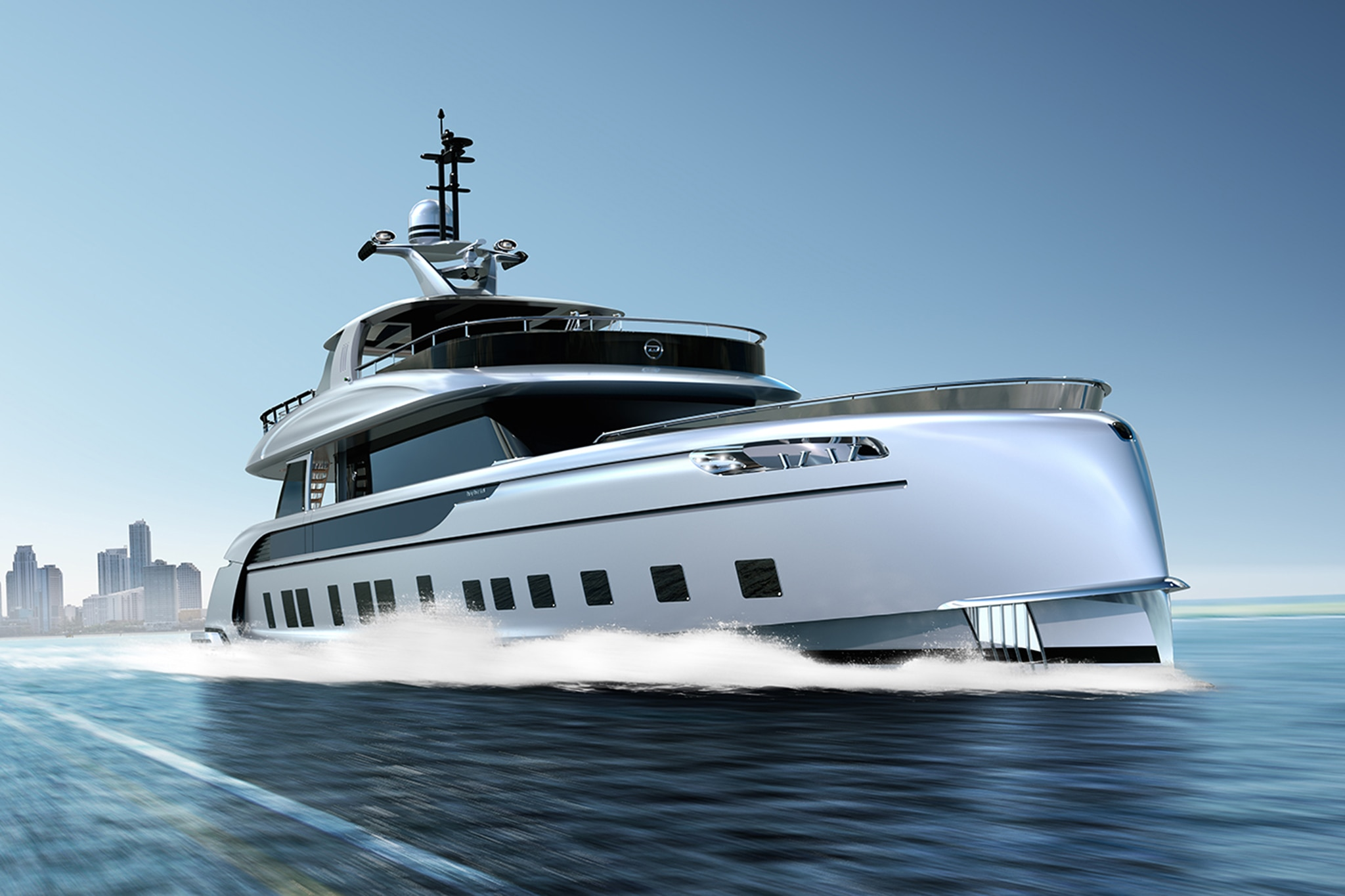 Dynamiq Yacht GTT 115 Hybrid