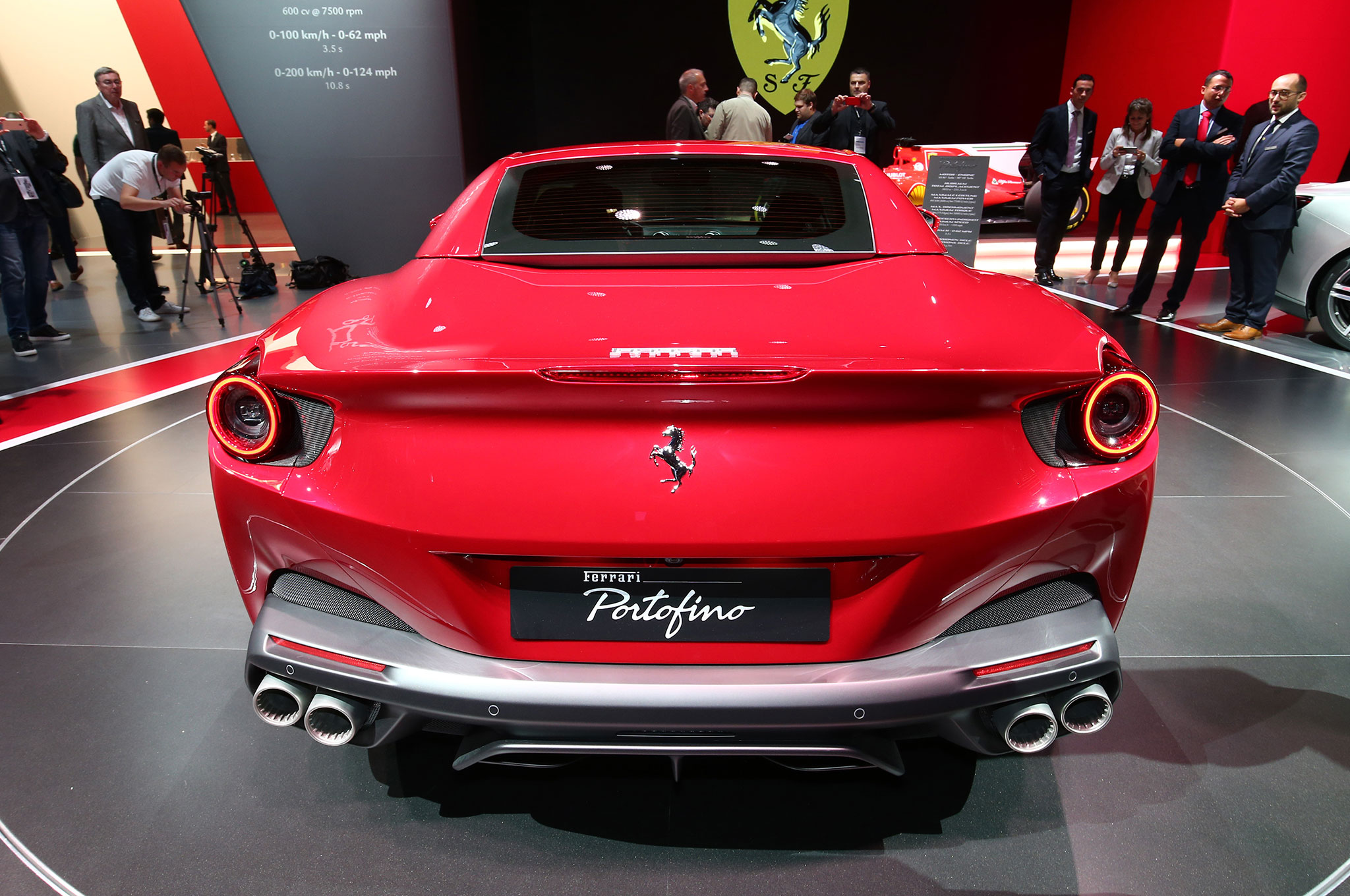2018 ferrari portofino looks sharp in frankfurt | automobile magazine