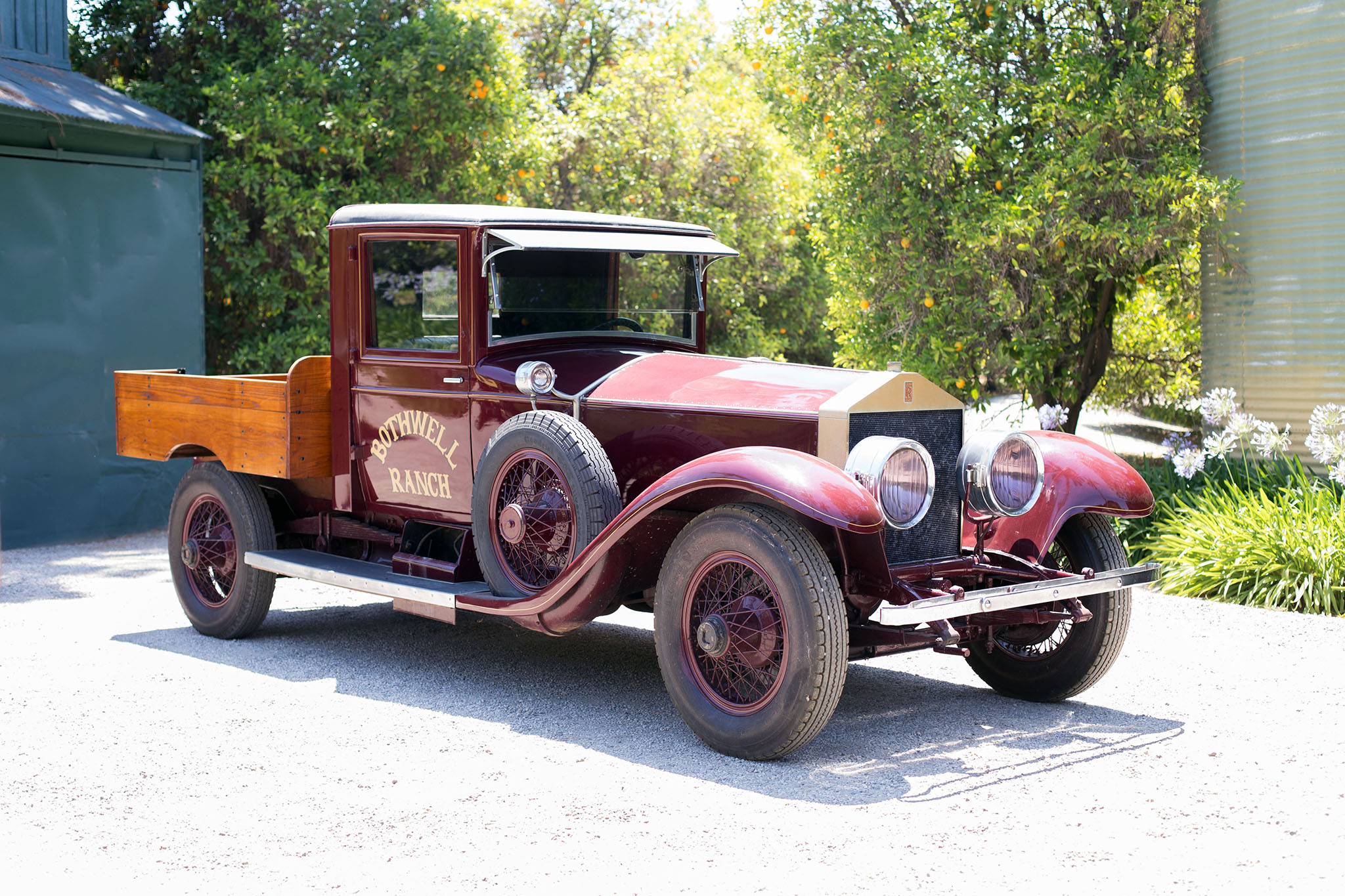 1926 Rolls Royce Pickup Trcuk Bonhams Front Three Quarters