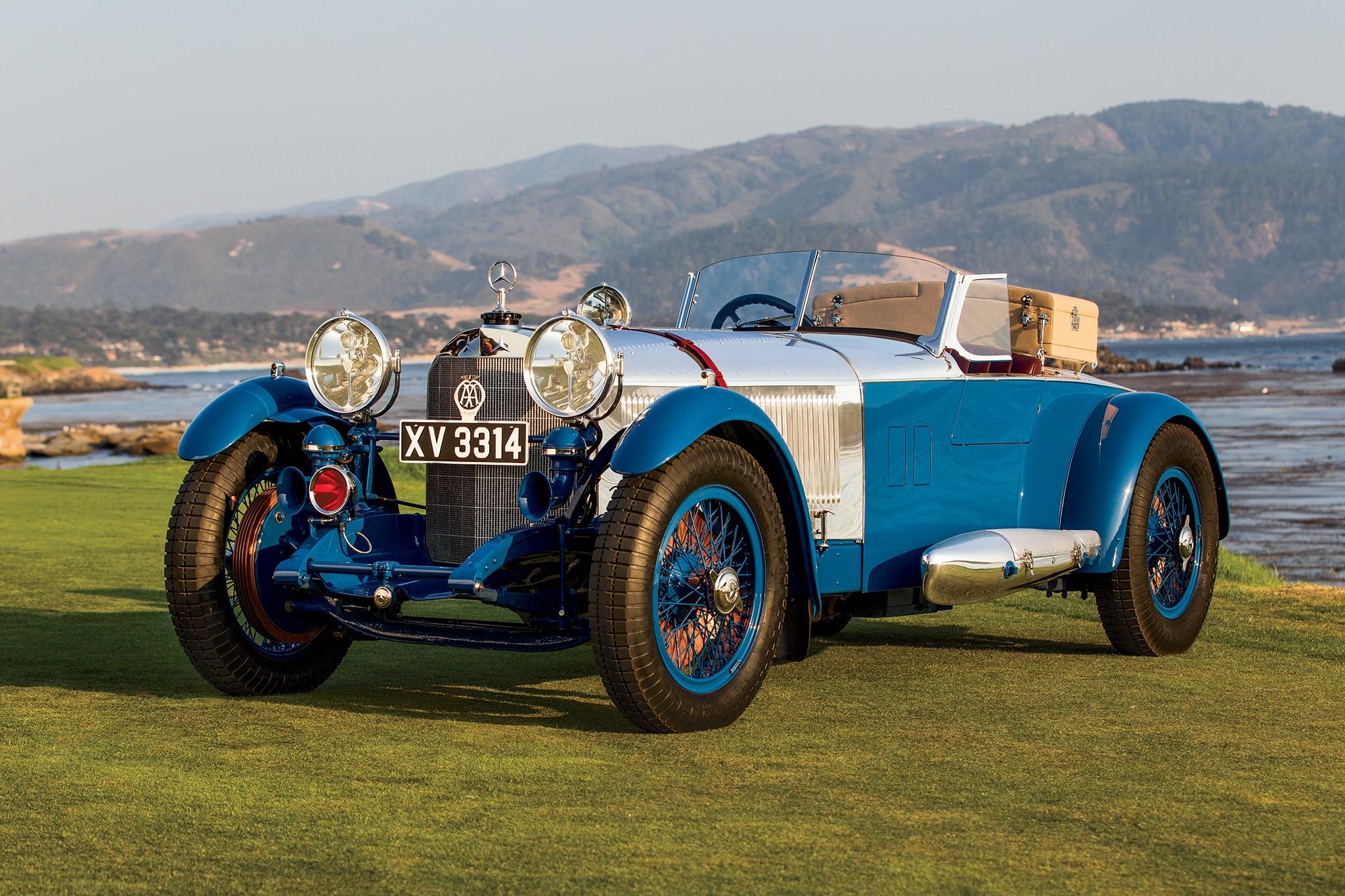 By Design 1929 Mercedes Benz S Barker Tourer Automobile
