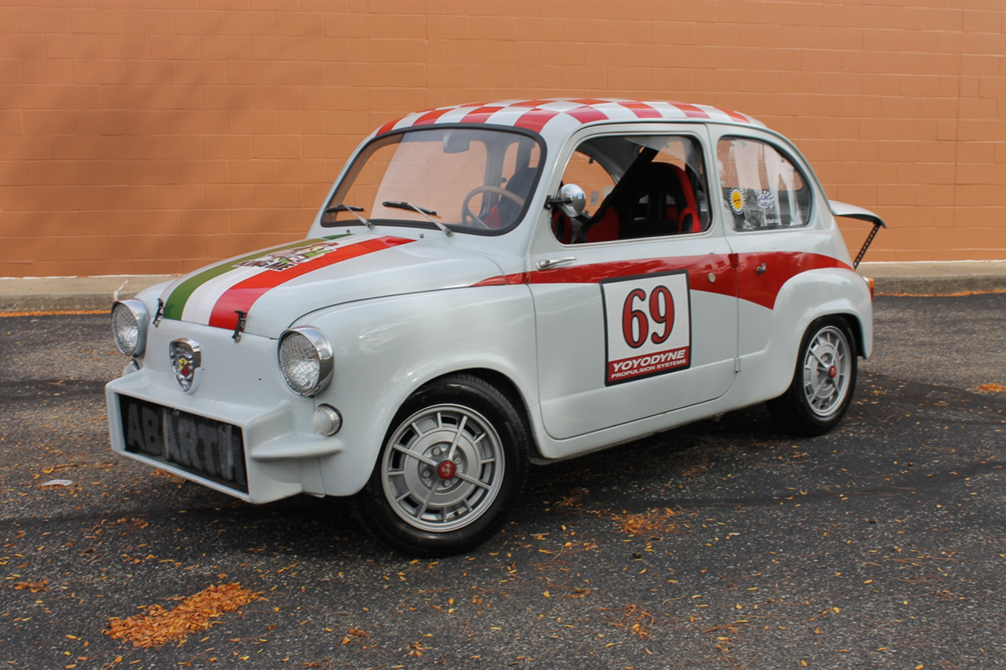 1960 Fiat 600 Abarth Replica Just Listed Front Three Quarters
