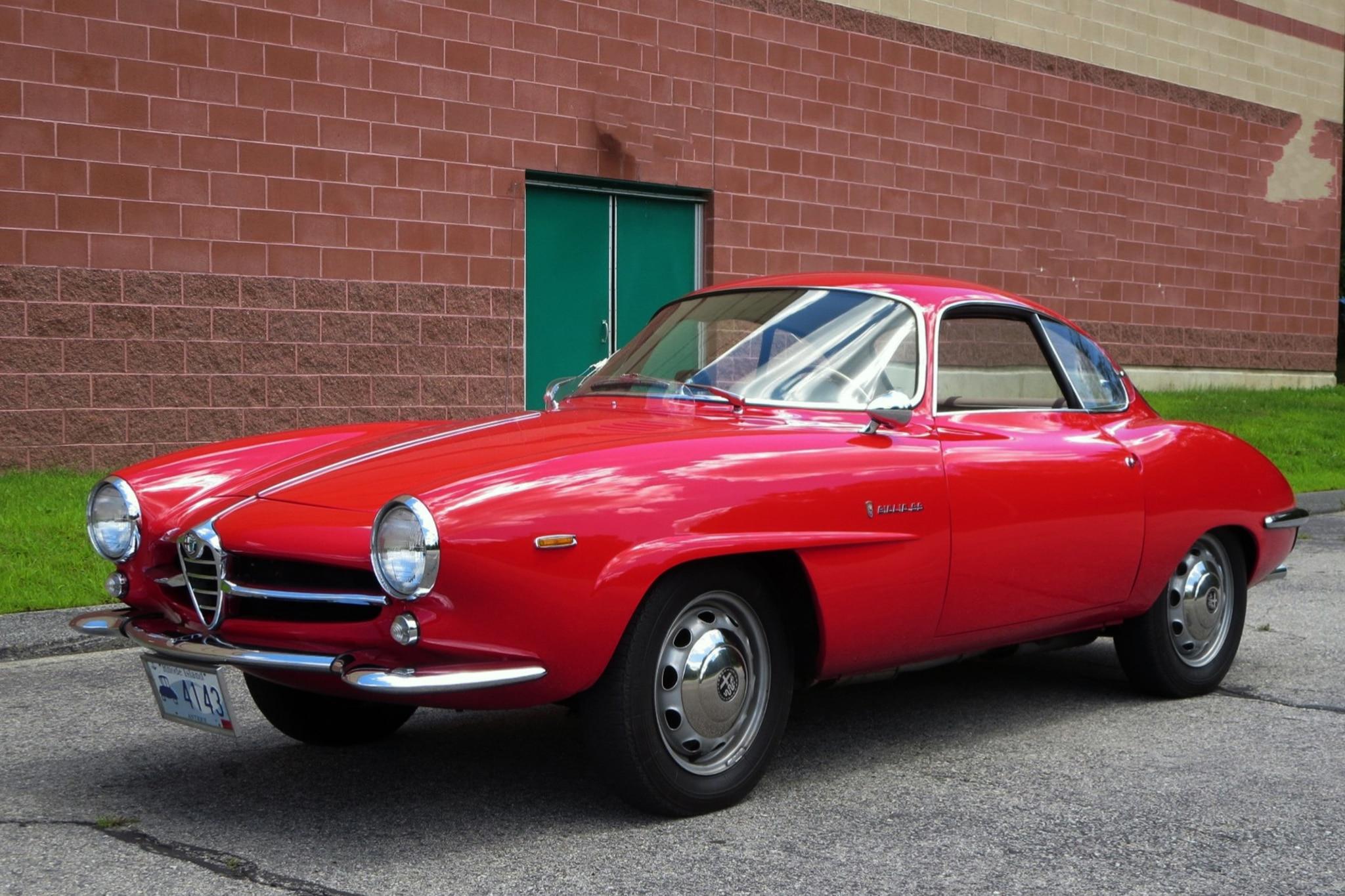 1965 Alfa Romeo Giulia Sprint Speciale Just Listed Front Three Quarters