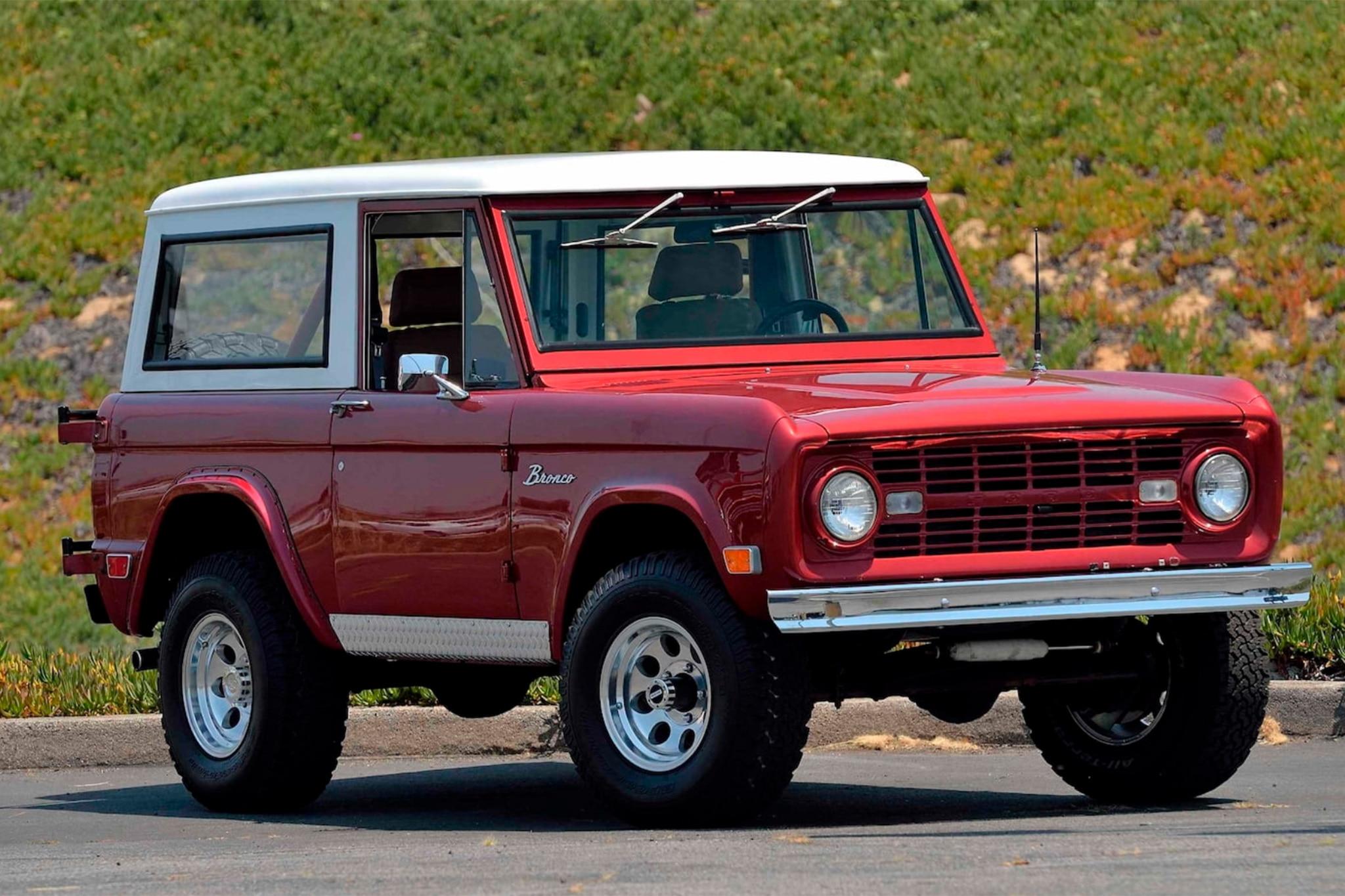 1968 Ford Bronco Restomod Mercum 2
