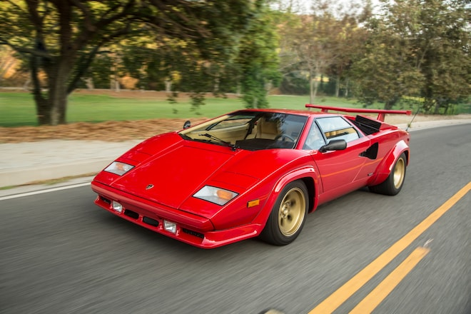 Classic Drive 1988 Lamborghini Countach 5000 Qv Automobile Magazine