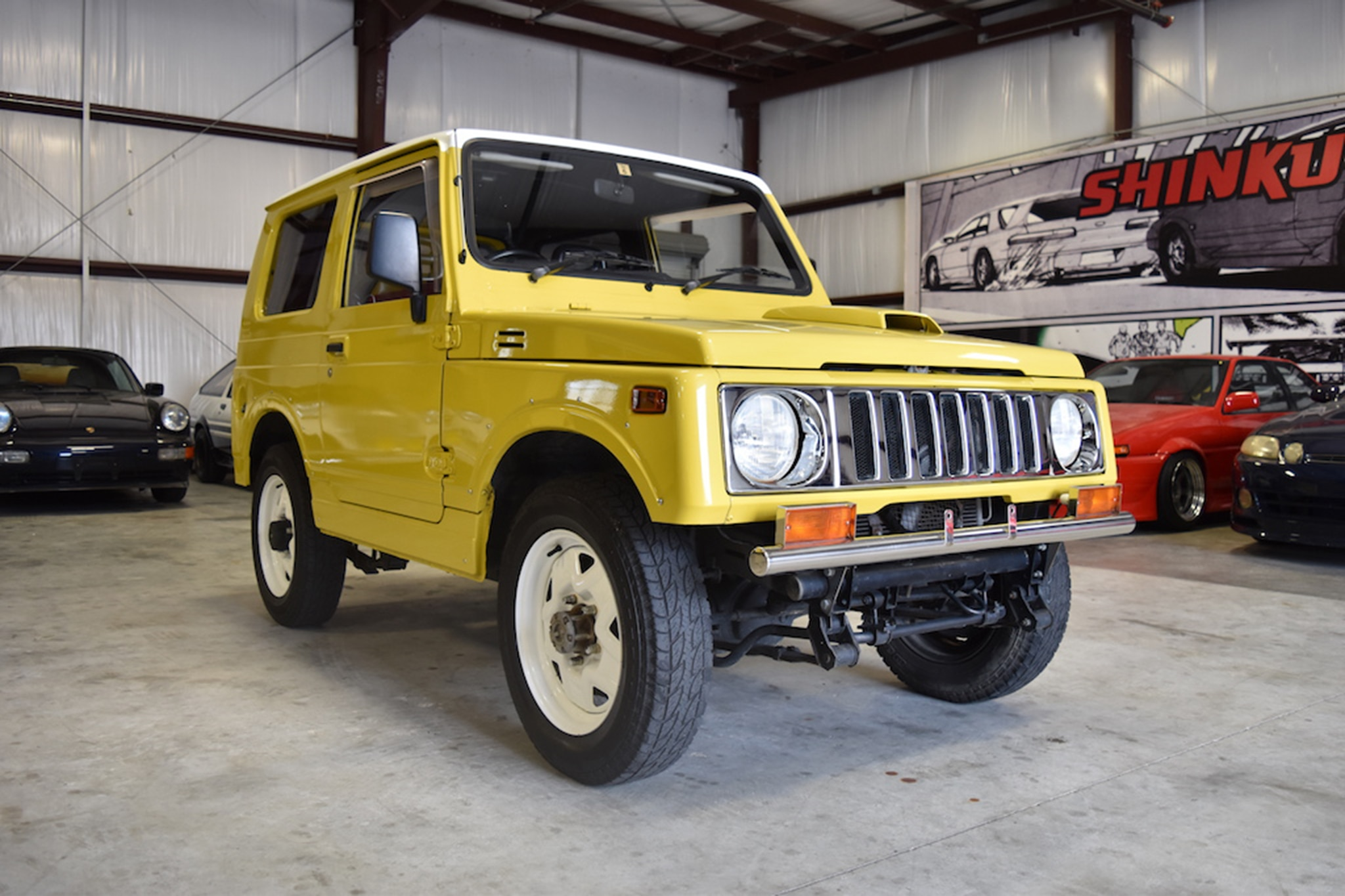 1990 Suzuki Jimny Just Listed Front Three Quarters