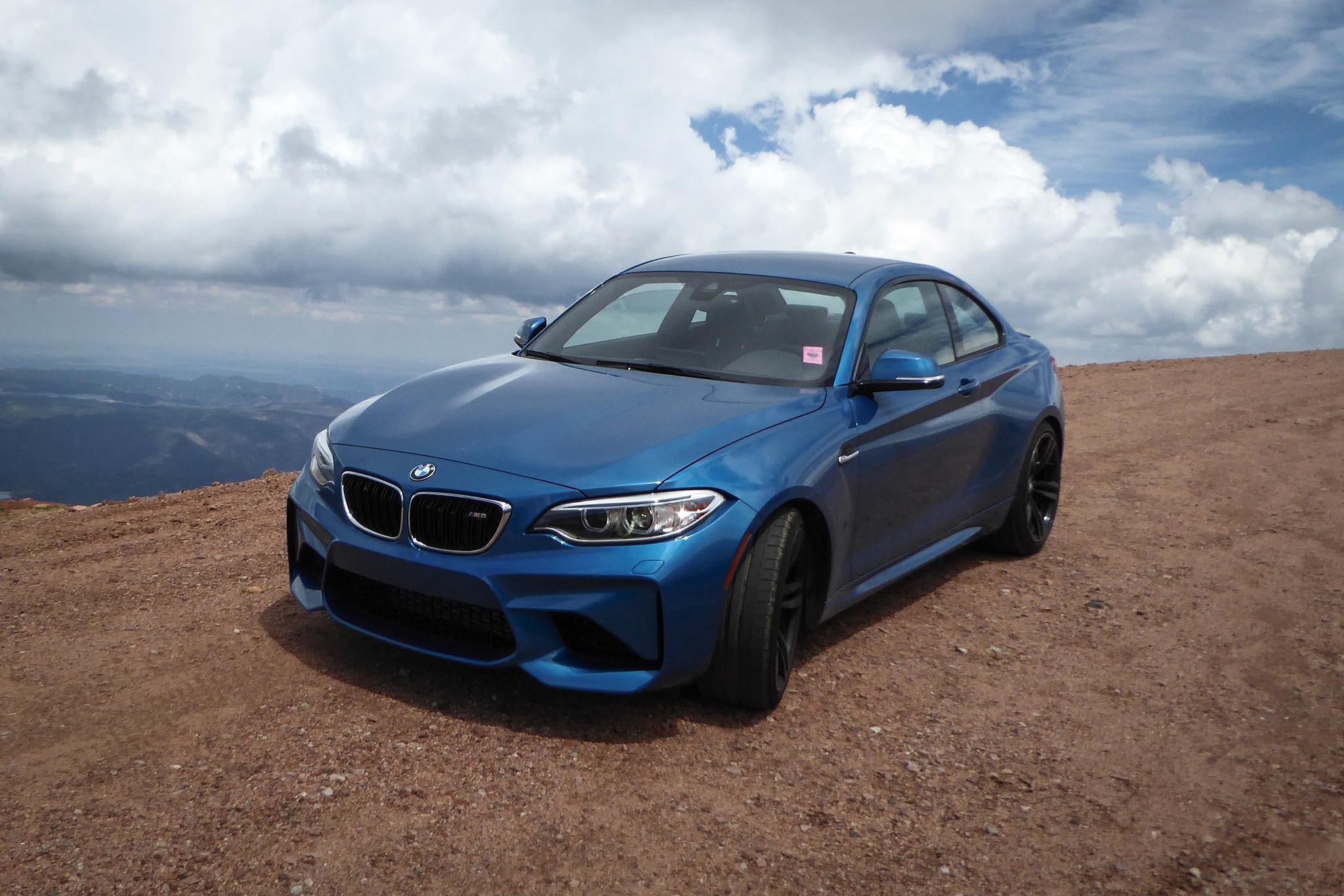 2017 BMW M2 Pikes Peak 1