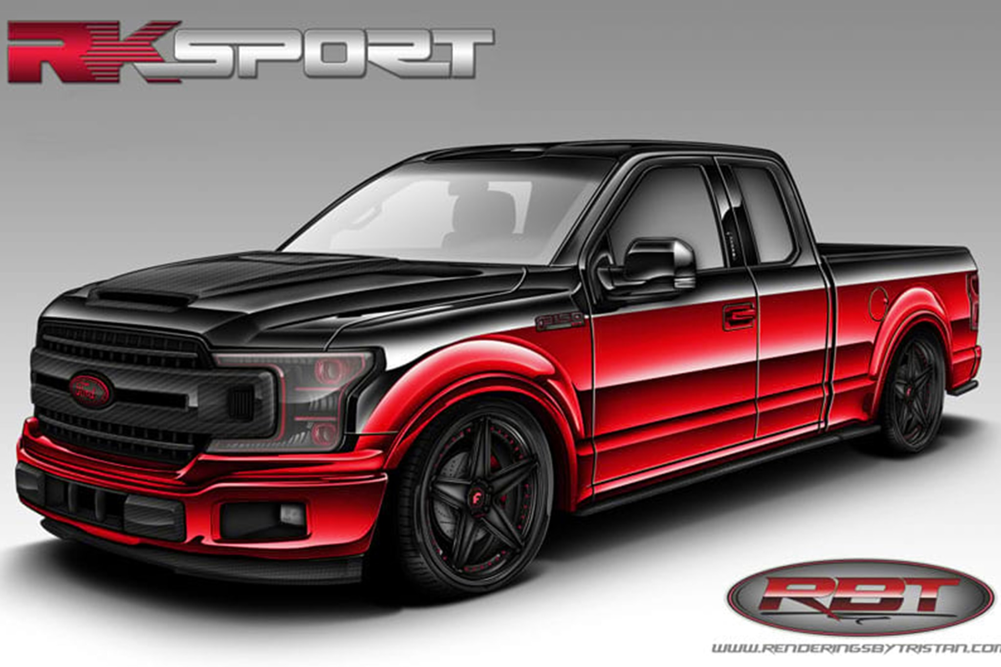 Eight Wild And Crazy Ford F Series Trucks At Sema