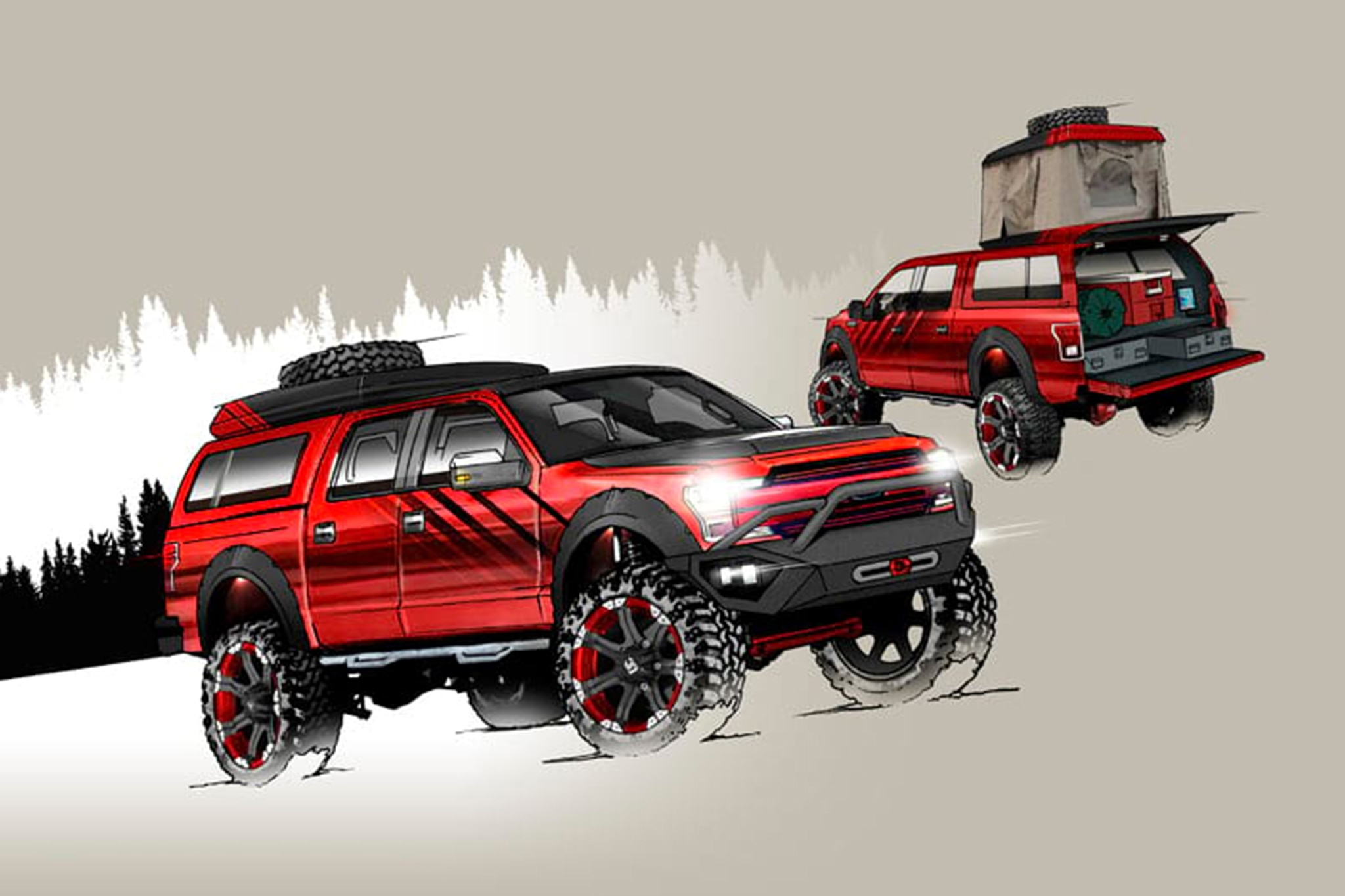 Ford F 150 Lifted >> Eight Wild and Crazy Ford F-Series Trucks at SEMA | Automobile Magazine
