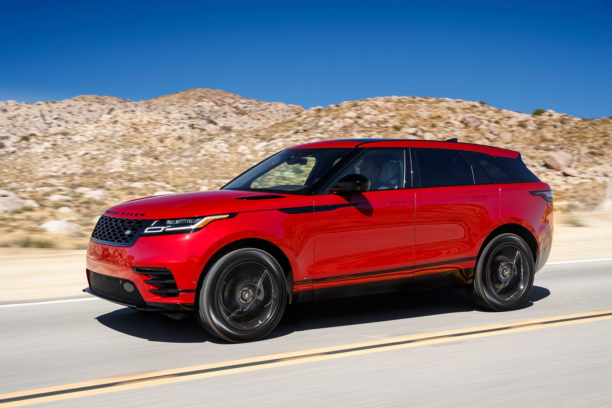 2018 Range Rover Velar Front Three Quarter In Motion 19