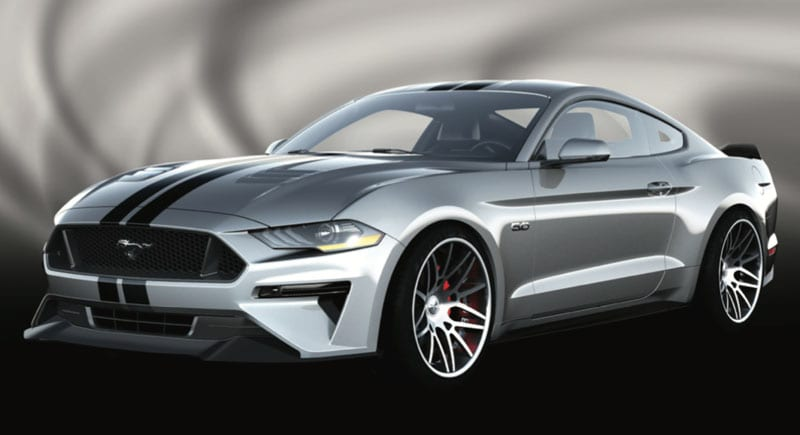 Seven Must See 2018 Ford Mustangs At The 2017 Sema Show Automobile