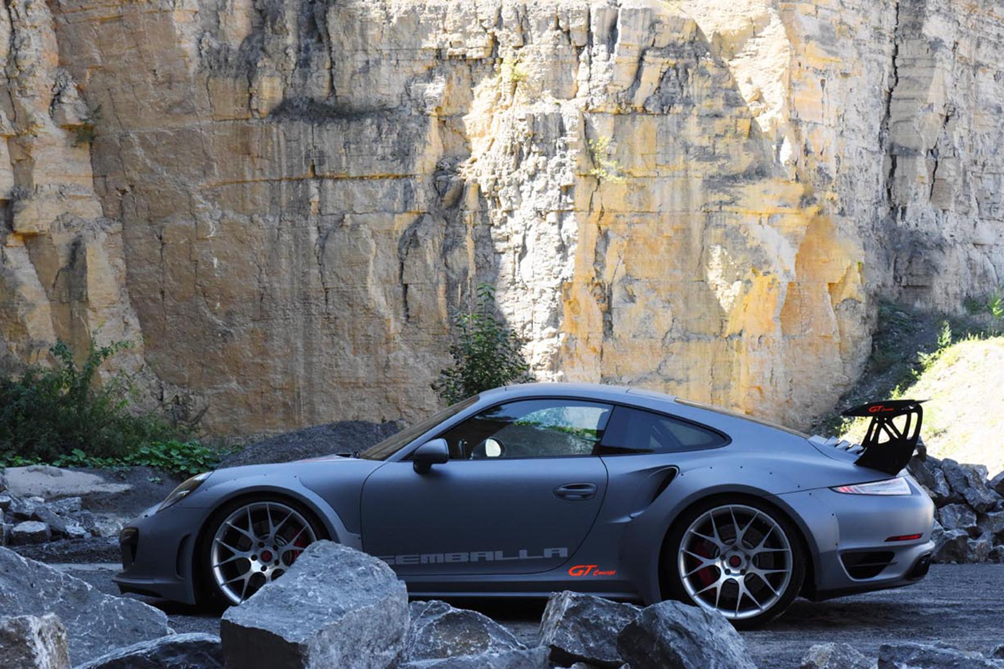 gemballa gt concept   widebody porsche  turbo   horsepower automobile magazine