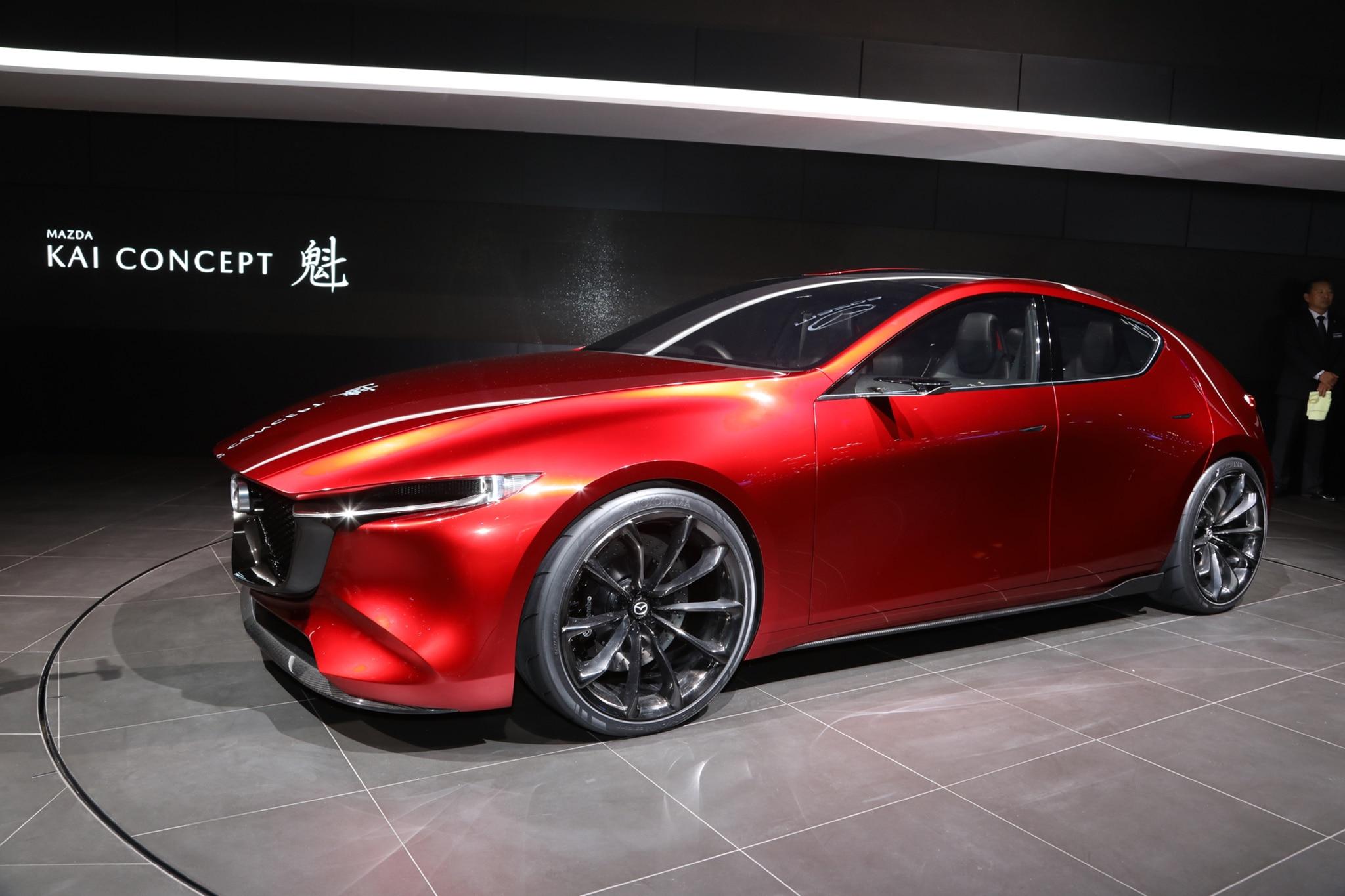 Mazda Kai Concept Front Three Quarter 02