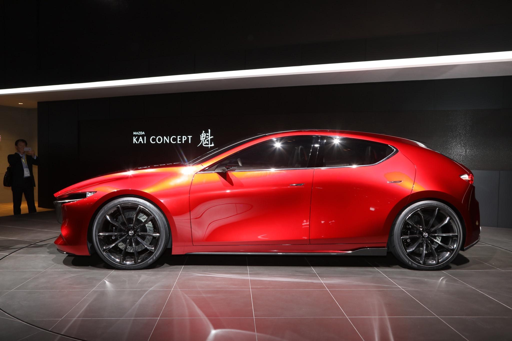 Mazda Kai Concept Side Profile