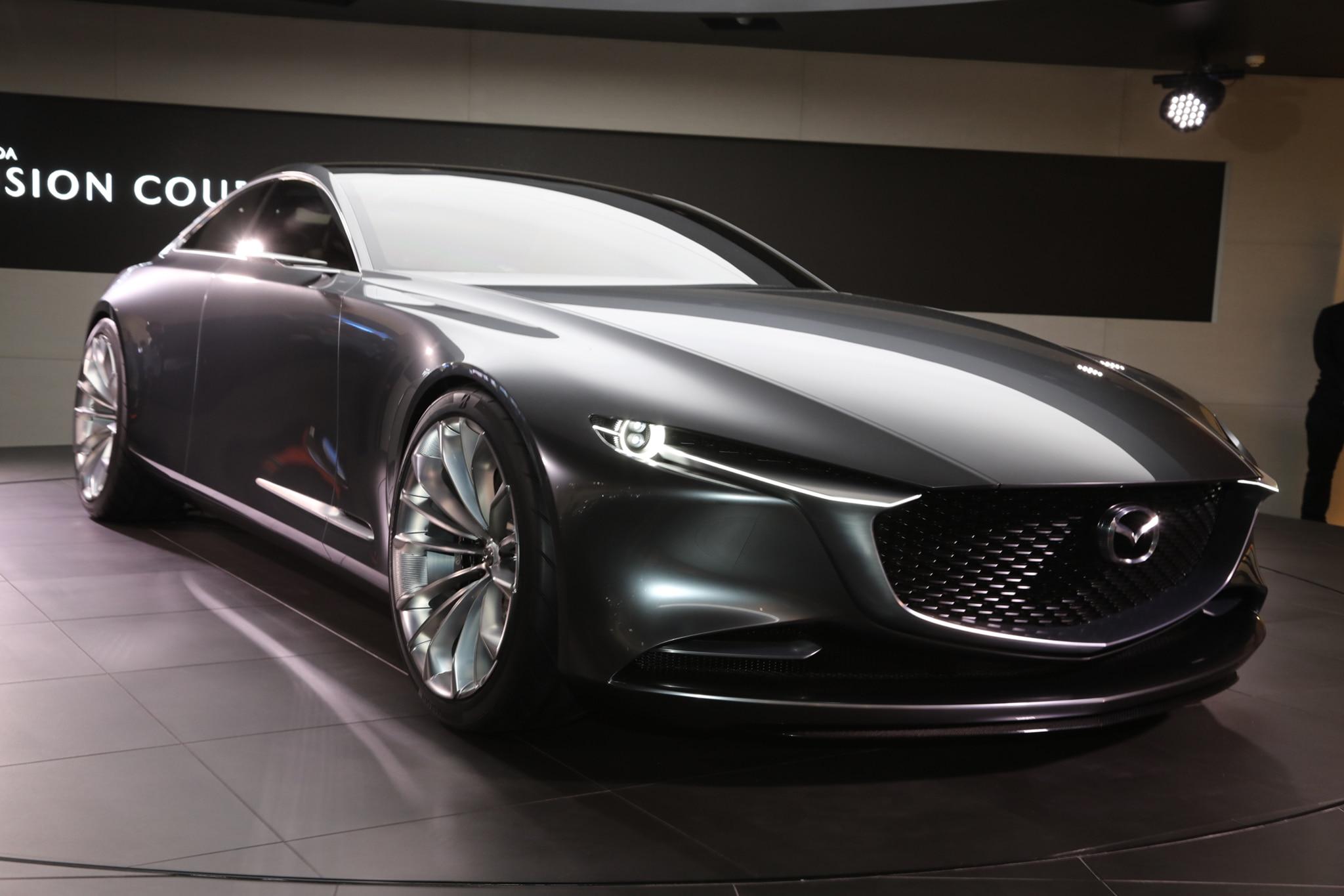 Mazda Vision Coupe Concept Rear Three Quarter 03