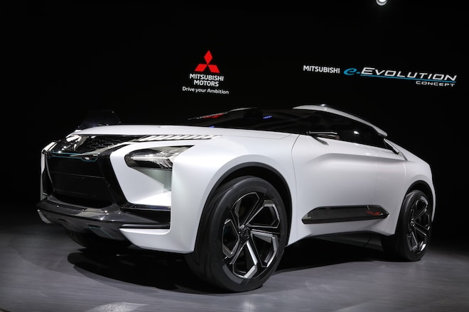 Five Key Details Of The Mitsubishi E Evolution Concept Automobile