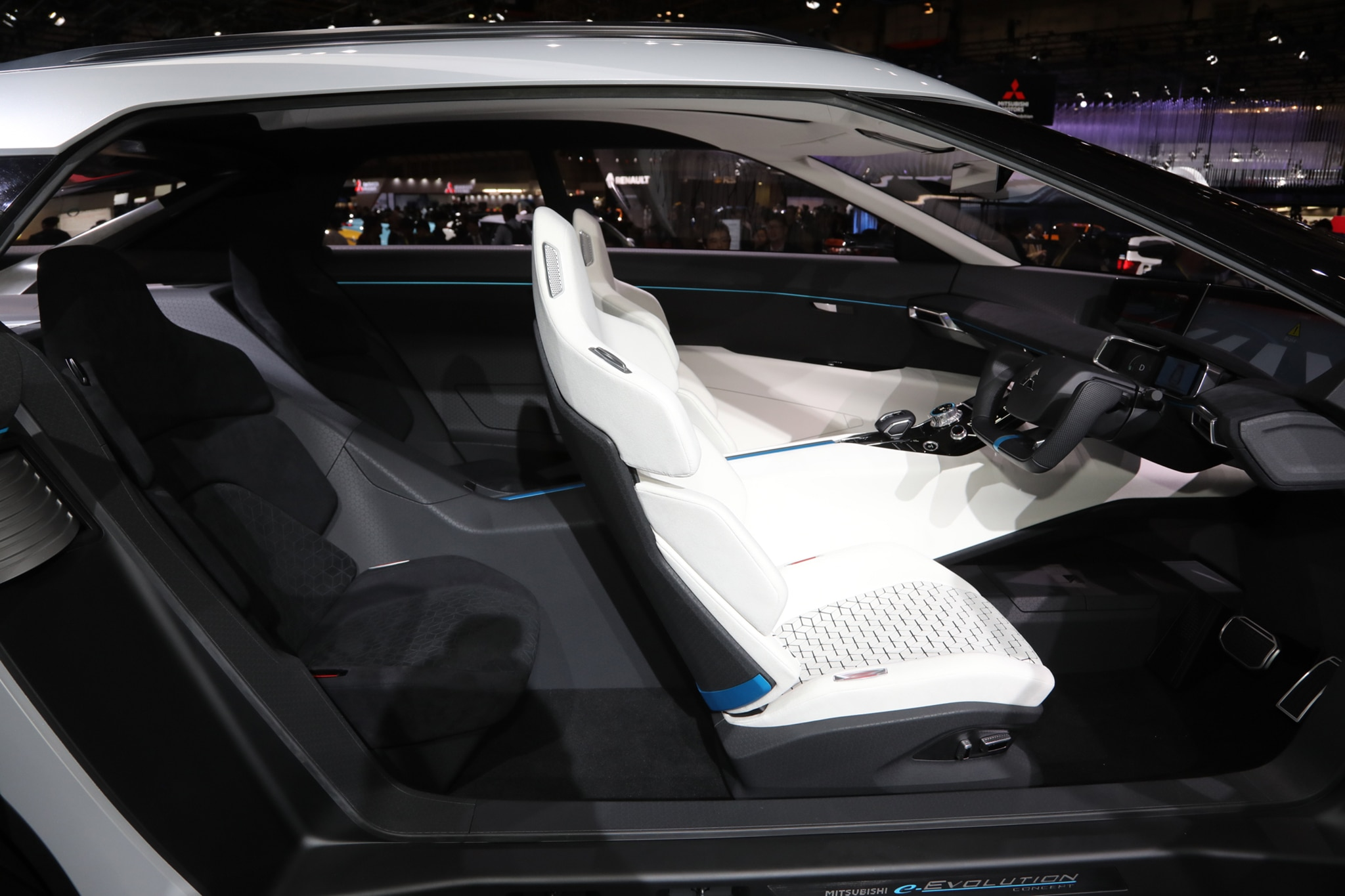 five key details of the mitsubishi e-evolution concept | automobile