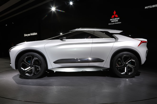 High Performance Suv With Good Intentions Mitsubishi E Evolution Concept Side Profile