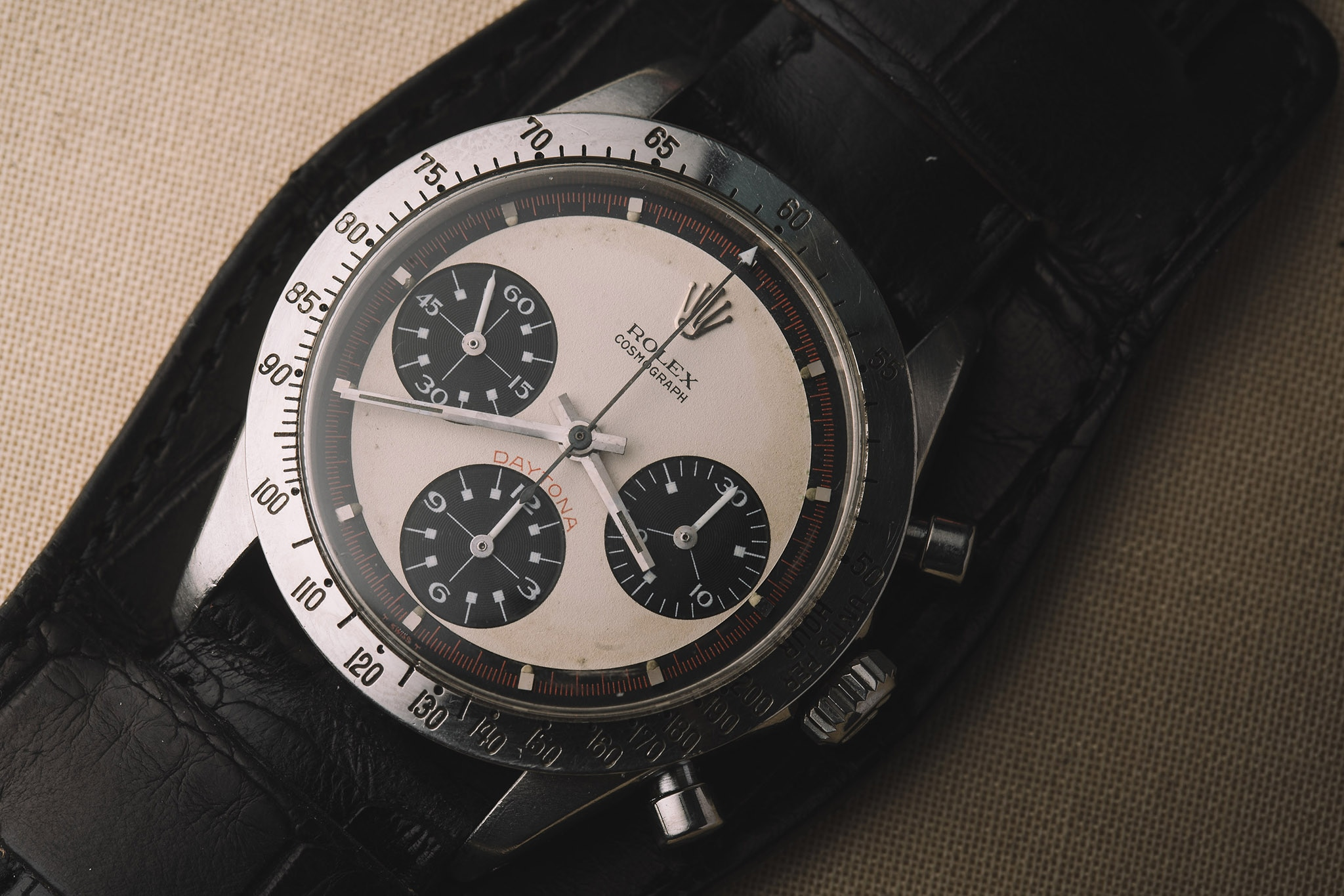 Paul Newman Rolex Daytona Front