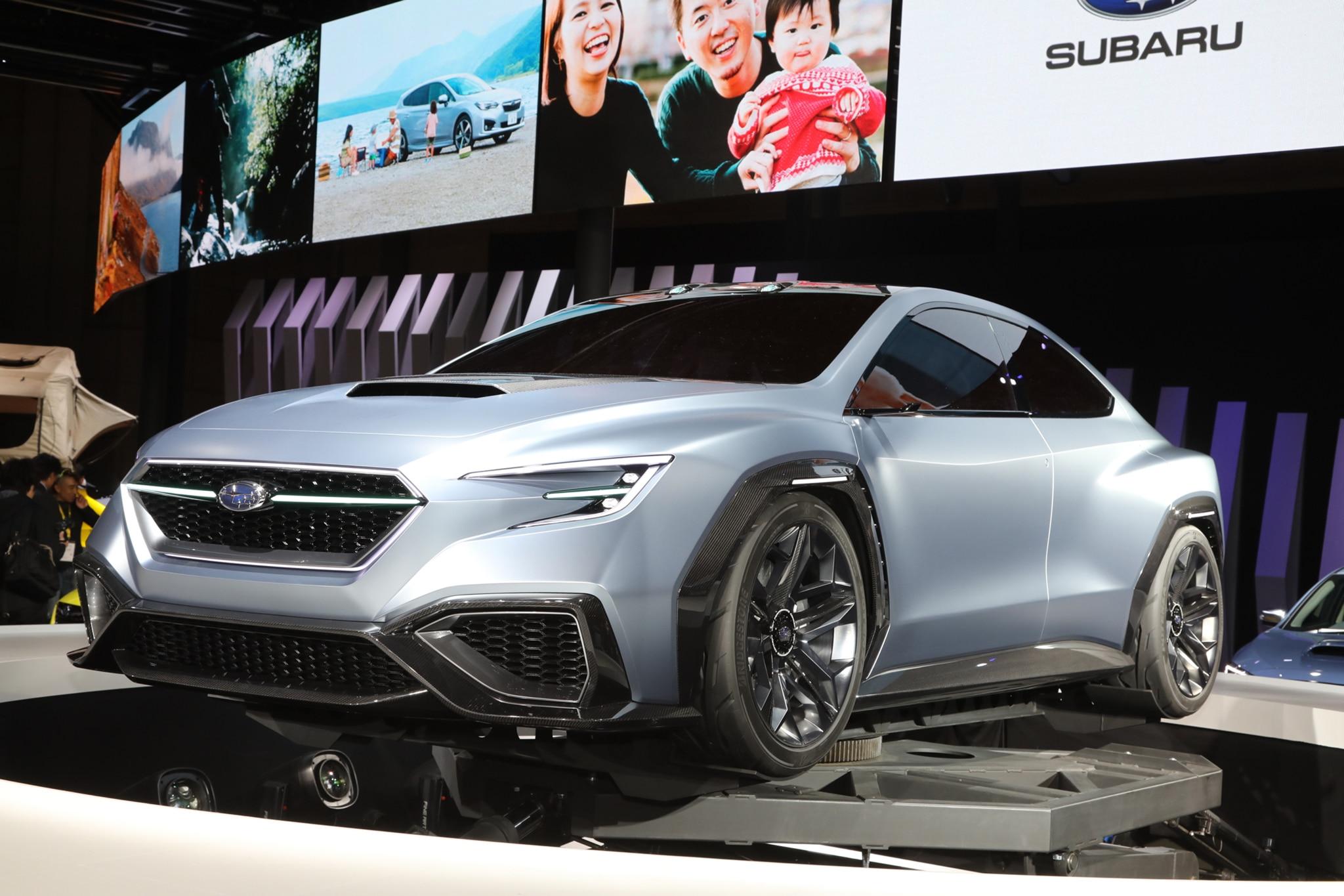 Five Design Details On The Subaru VIZIV Performance Concept - Subaru car show california