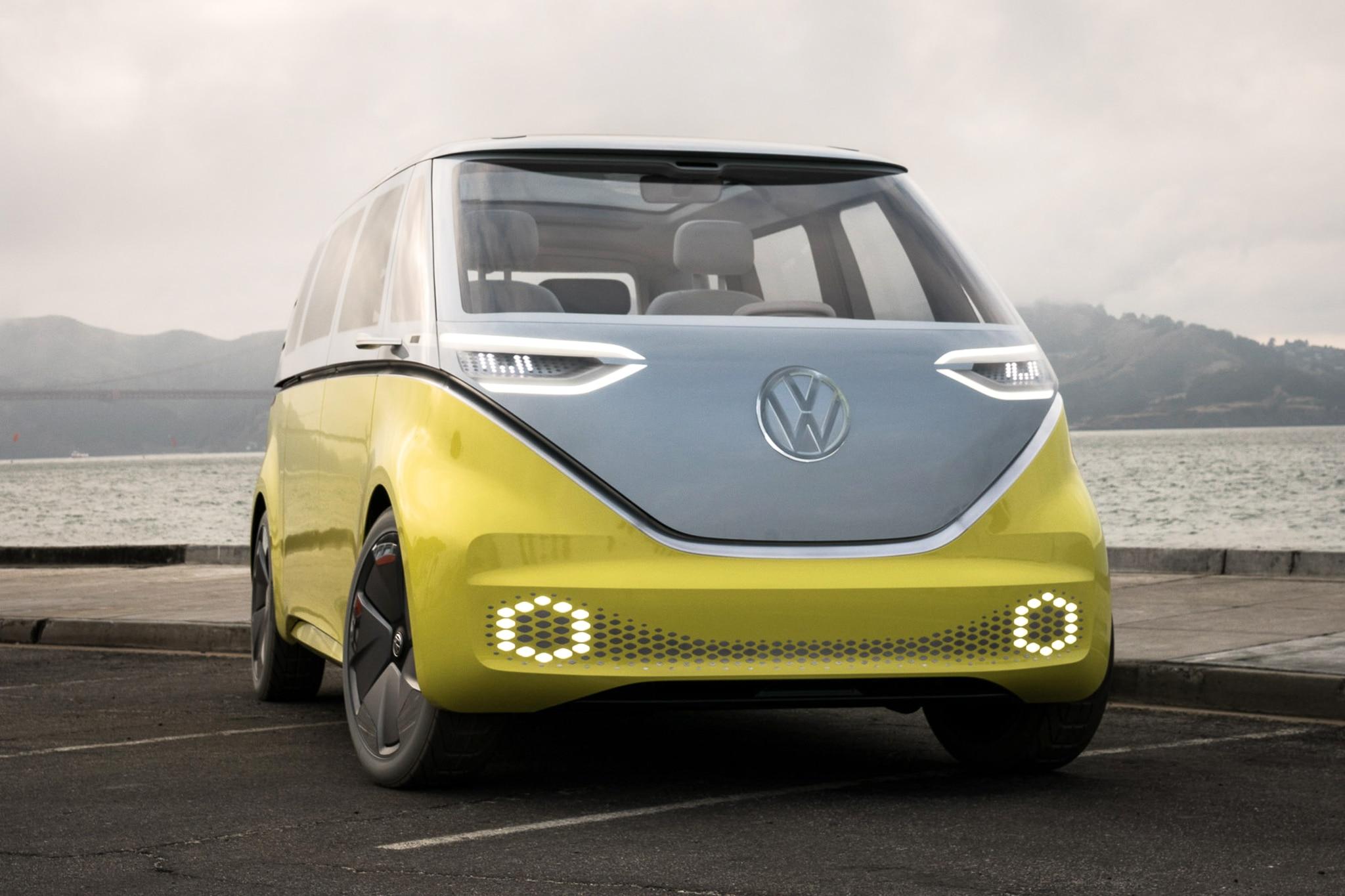 Volkswagen ID Buzz Concept Front Three Quarter 02