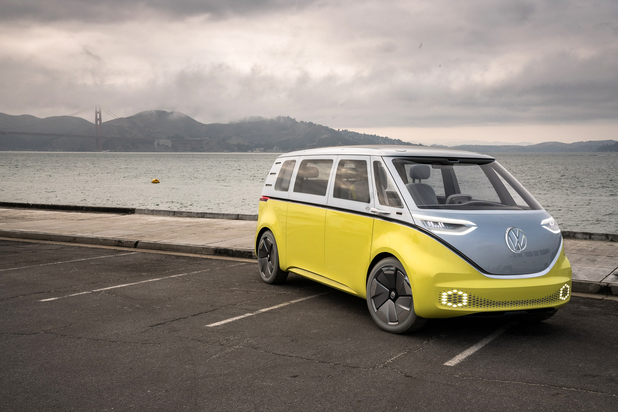 volkswagen id buzz concept  drive review automobile magazine