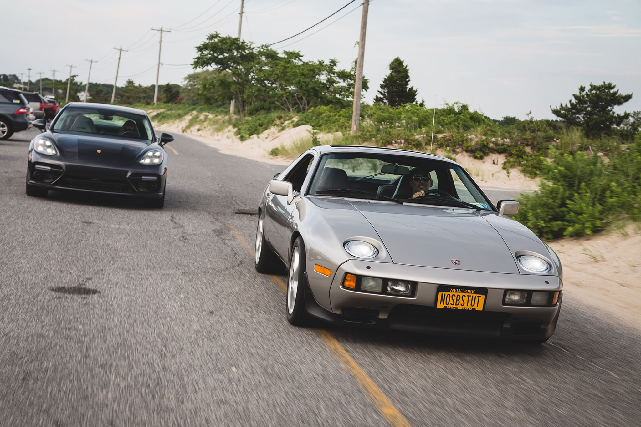 1982 Porsche 928 Meets 2017 Porsche Panamera Turbo | Automobile Magazine
