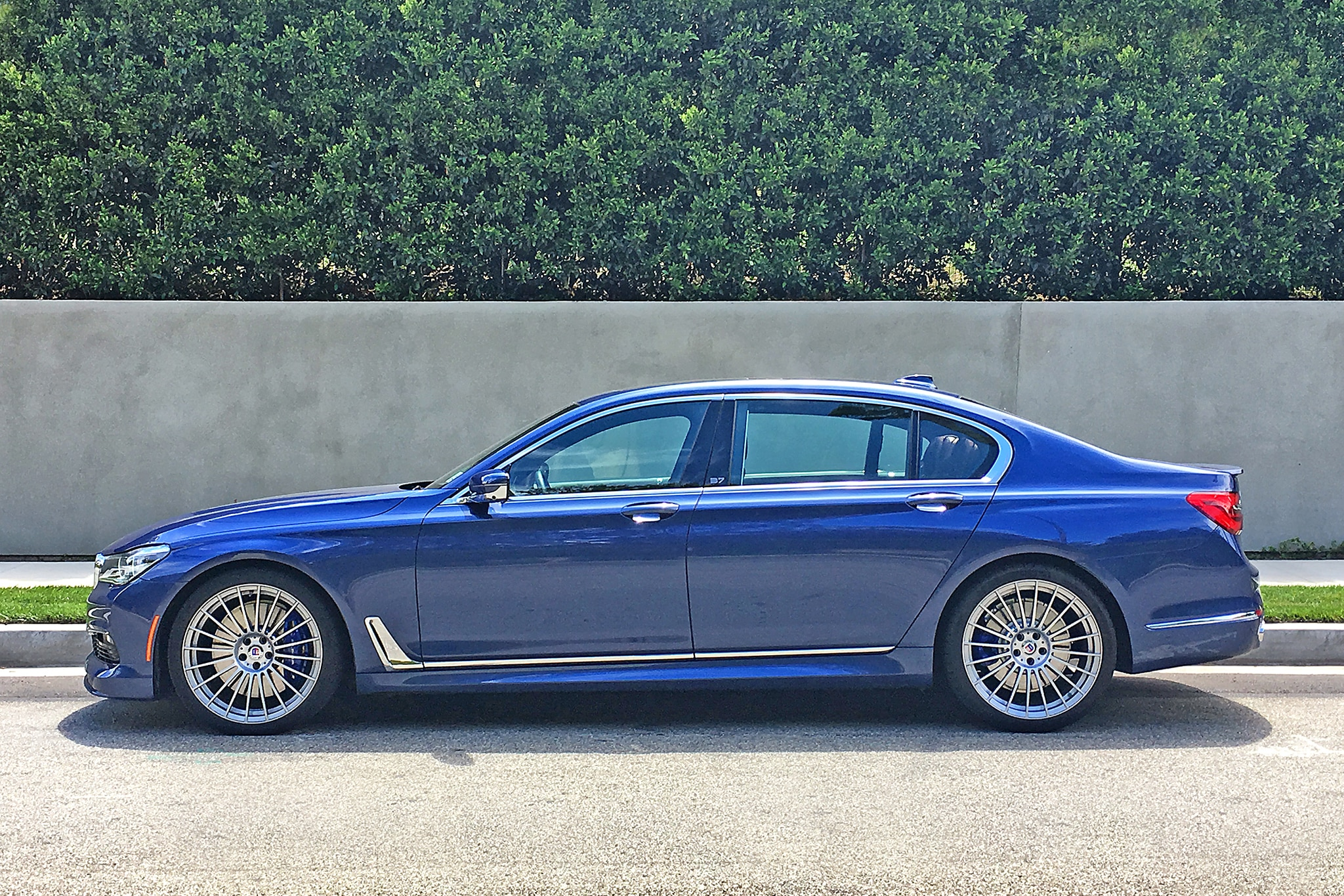 2017 BMW Alpina B7 XDrive Side Profile