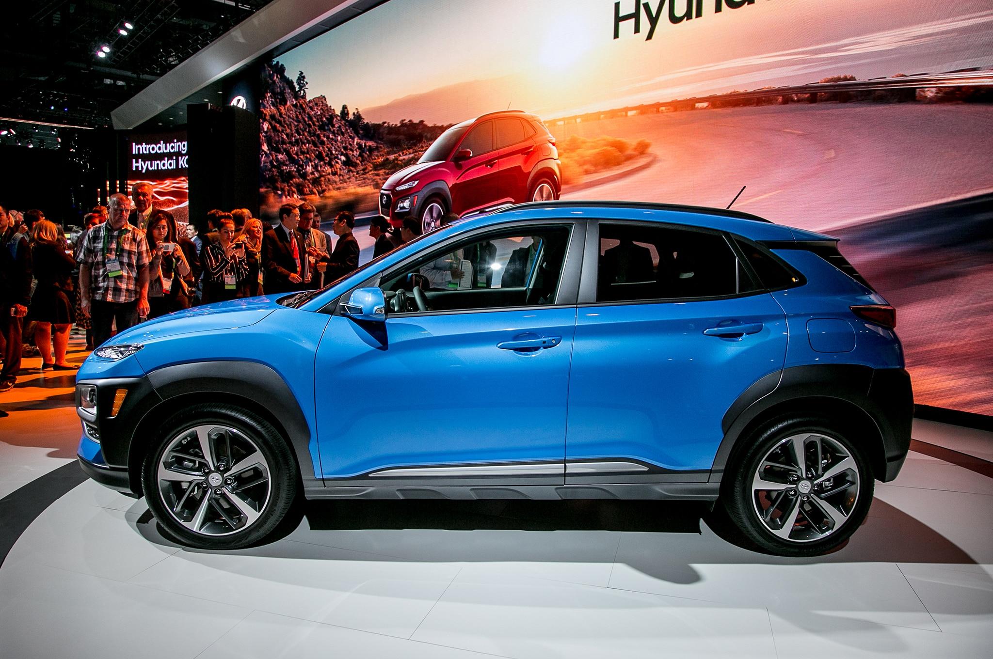 2018 Hyundai Kona Side