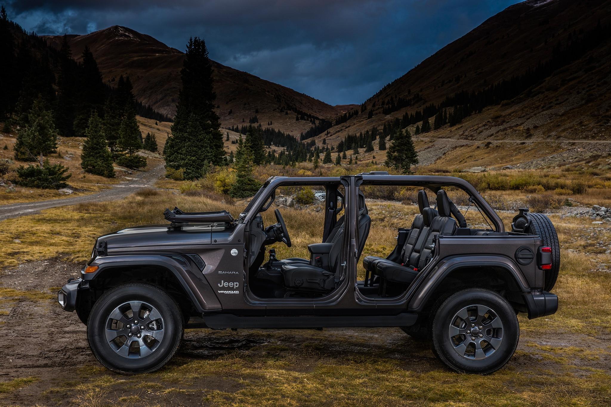 2018 jeep wranger unlimited sahara | automobile magazine