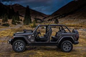 2018 Jeep Wrangler Sahara Side Profile 04
