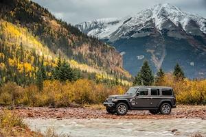 2018 Jeep Wrangler Sahara Side Profile 05