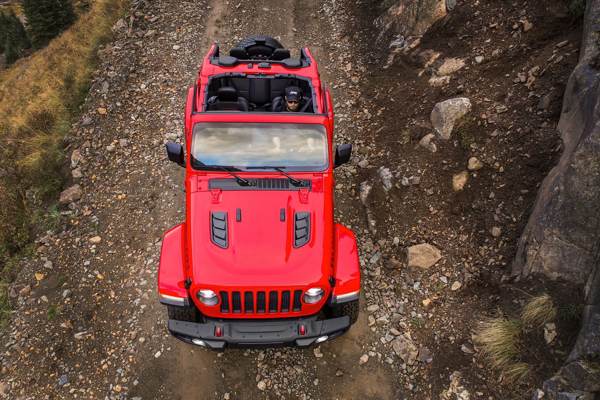 2018 Jeep Wrangler Confidently Drives A Tightrope