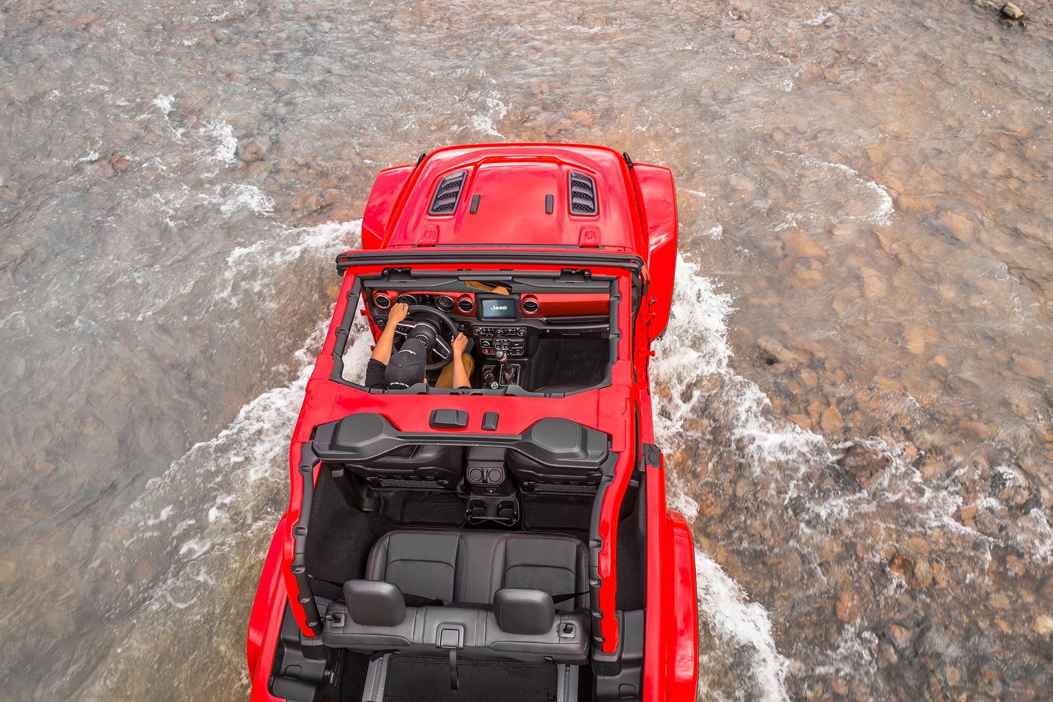 2018 Jeep Wrangler Rubicon First Drive Review Automobile Magazine