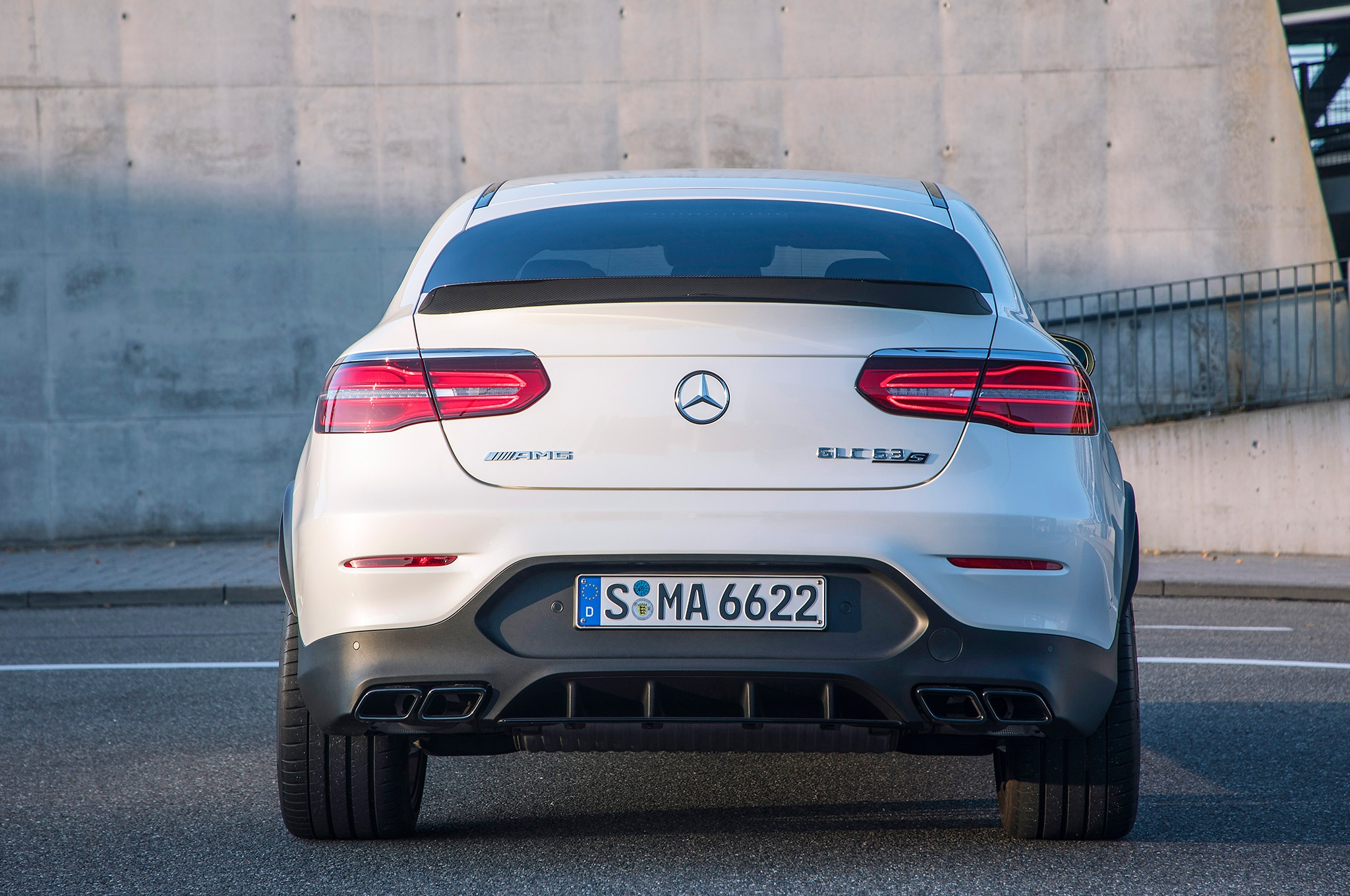 2018 Mercedes-AMG GLC 63 S Coupe First Drive Review