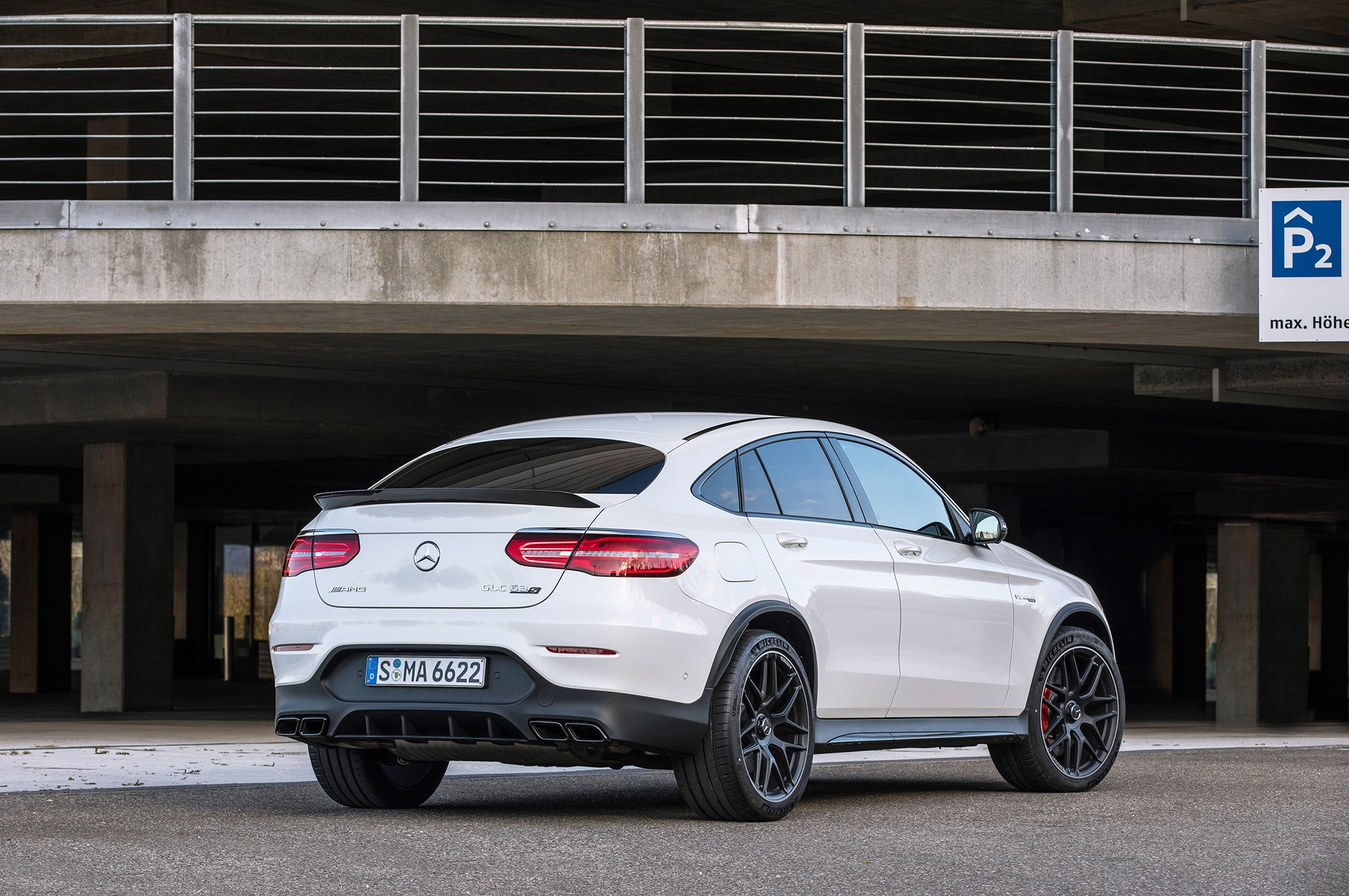 2018 mercedesamg glc 63 s coupe first drive review