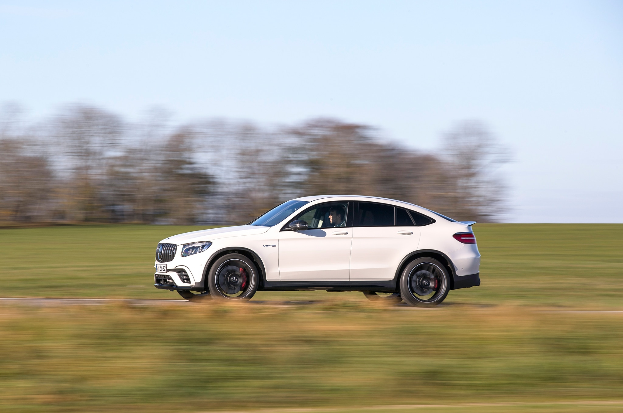 2018 mercedes amg glc 63 s coupe first drive review. Black Bedroom Furniture Sets. Home Design Ideas