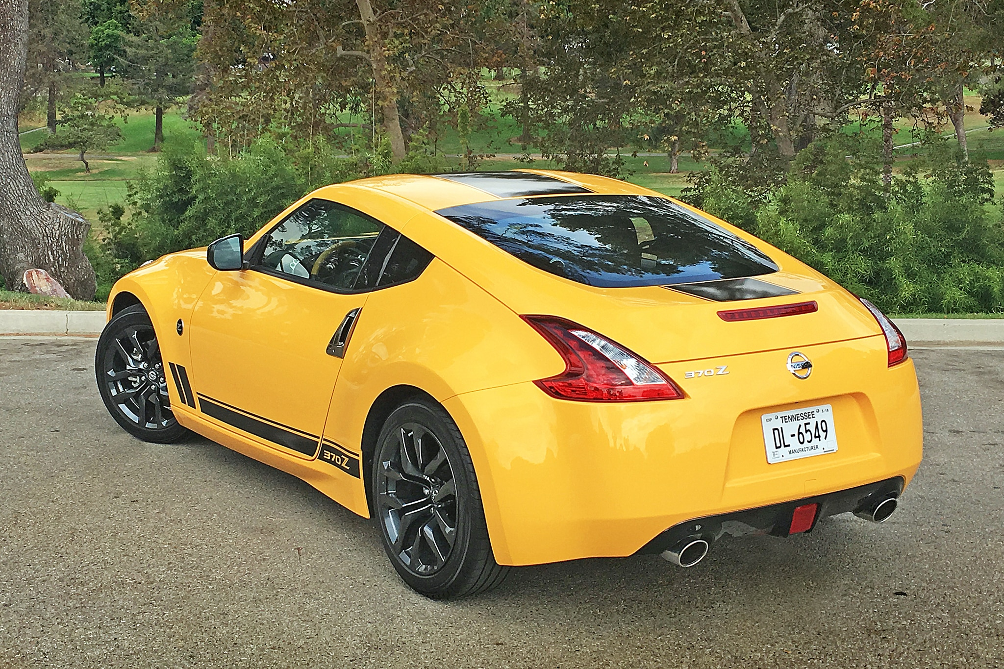 2018 Nissan 370Z Heritage Edition Rear Three Quarter