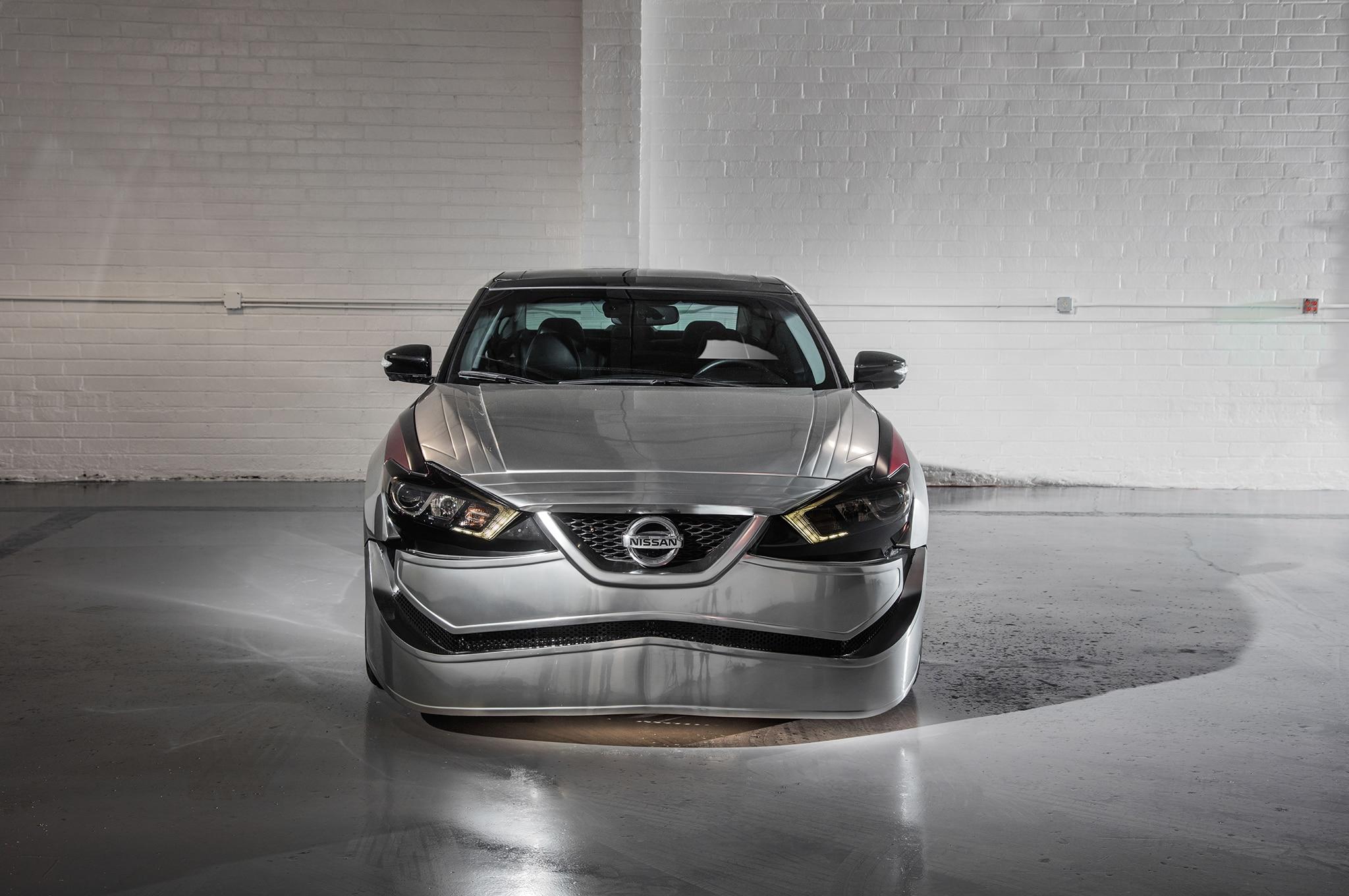 2018 Nissan Maxima Show Car Captain Phasma Front