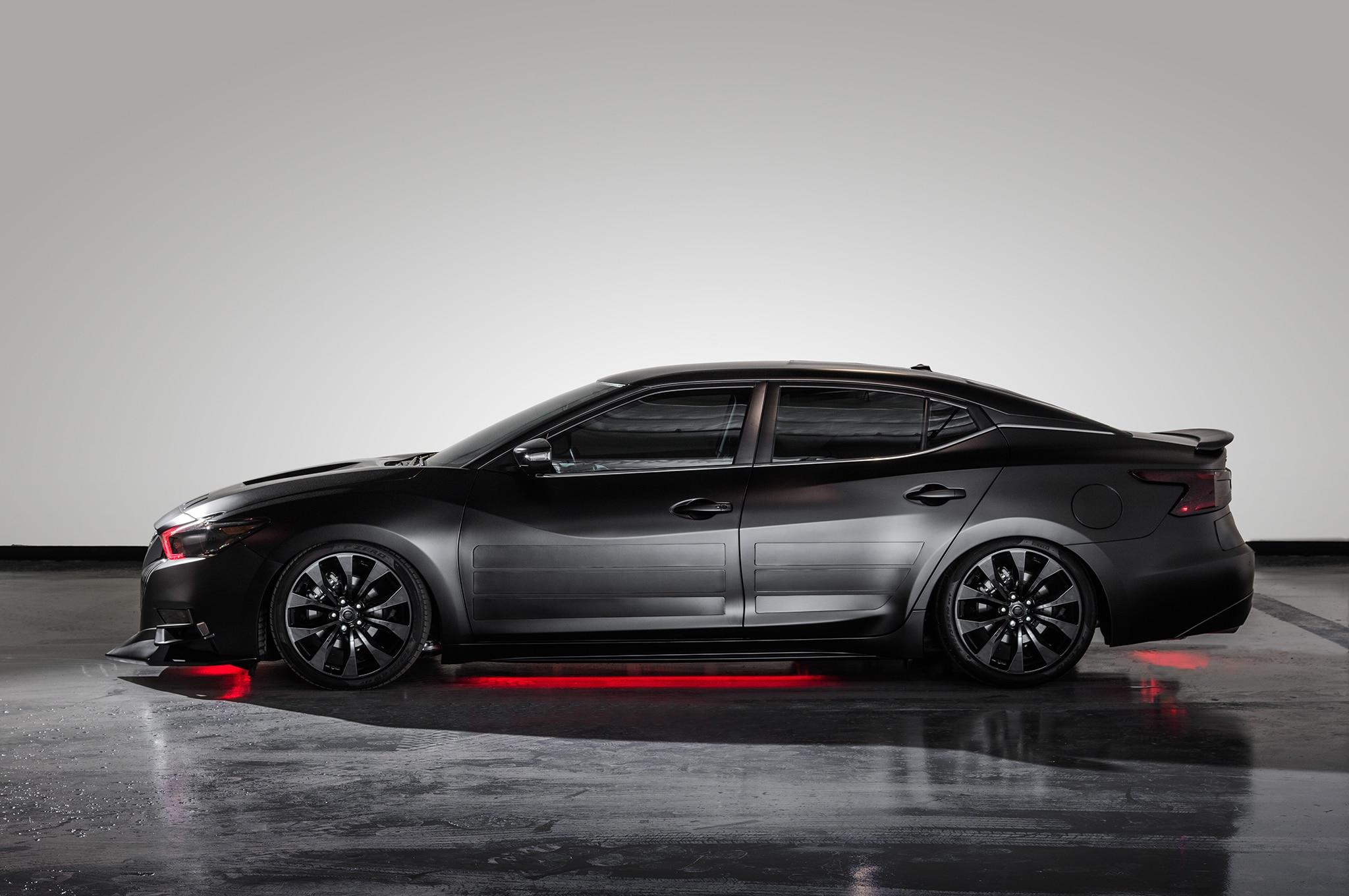 2018 Nissan Maxima Show Car Kylo Ren Side